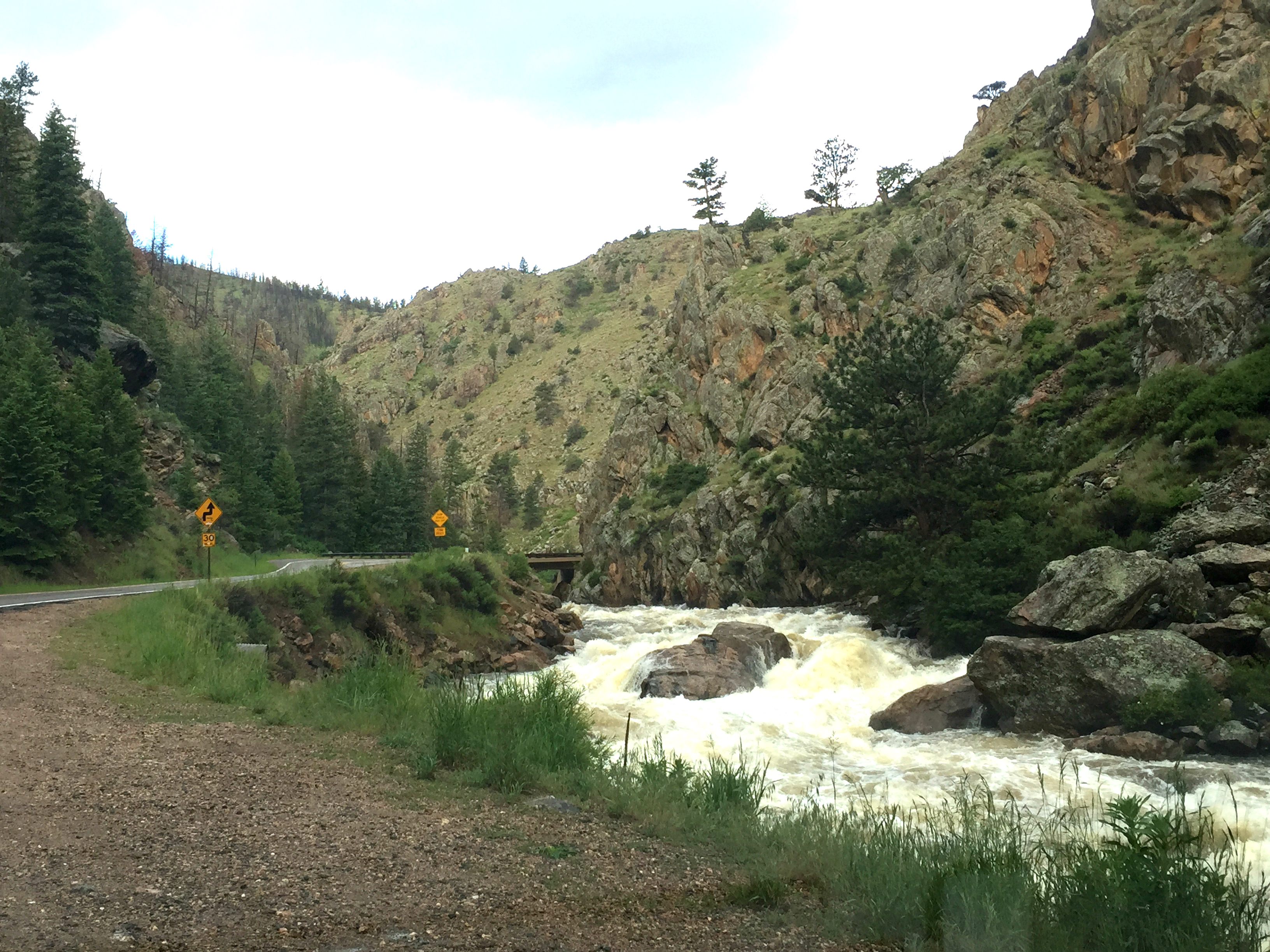 Photo: Poudre River, Northern Colorado