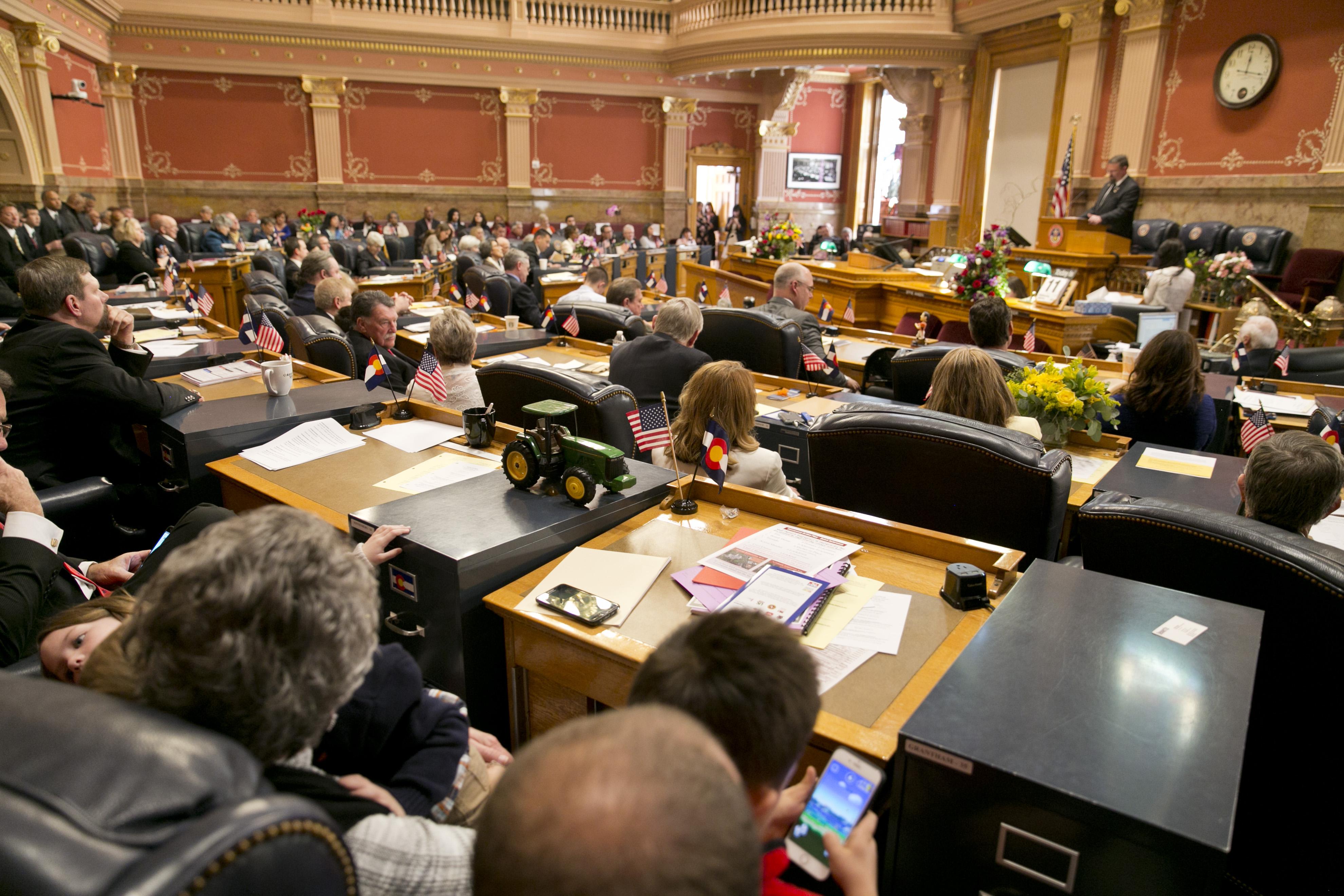 Photo: Capitol Jan 11 2017 17 | Colorado Senate chambers