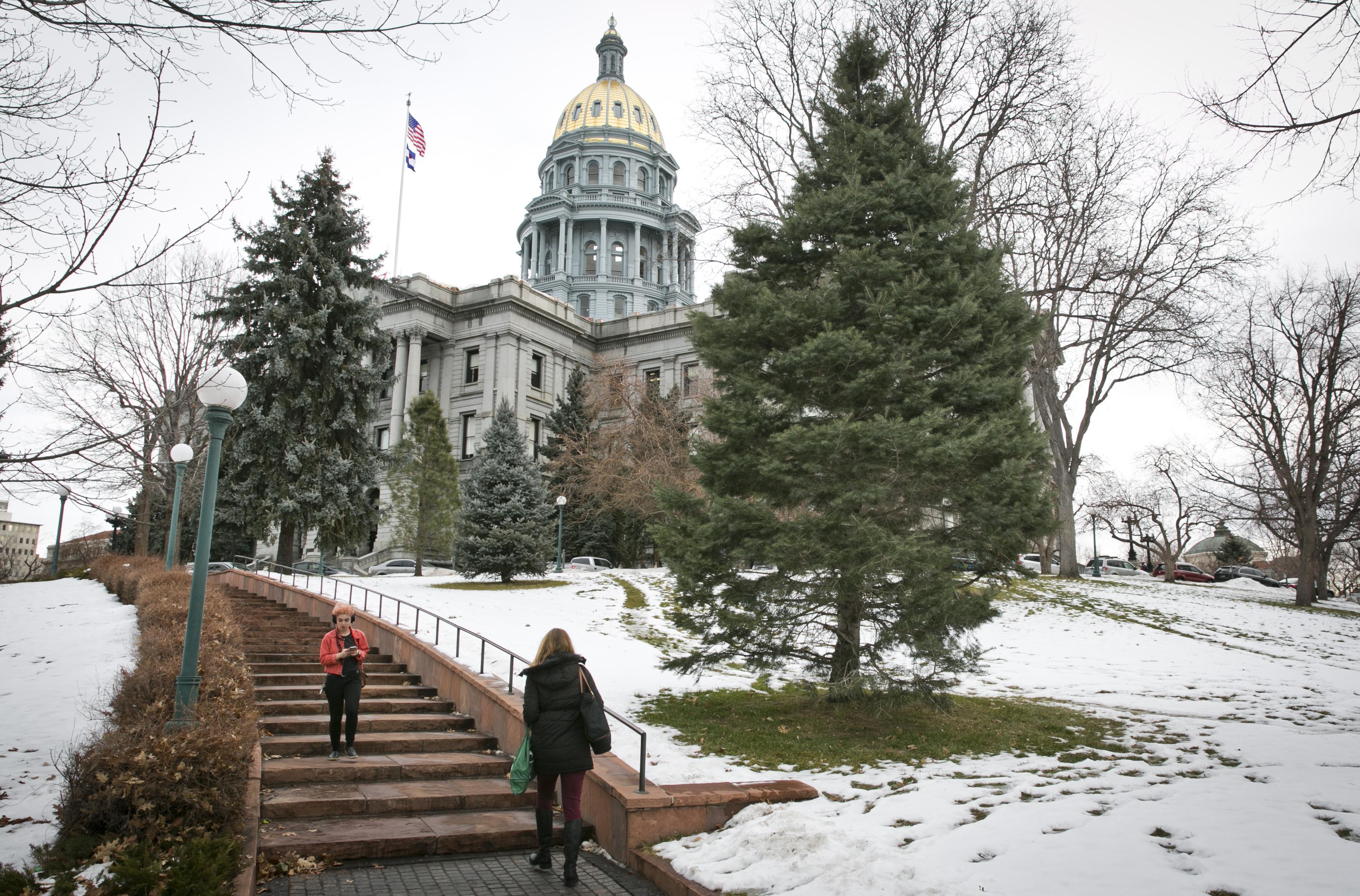 Photo: Colorado Capitol Jan 2017 5 | Looking North