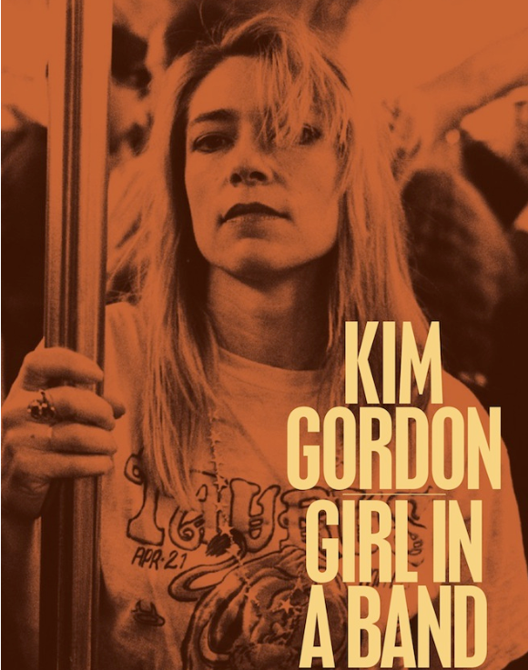 Photo: Kim Gordon 'Girl in a Band' book cover
