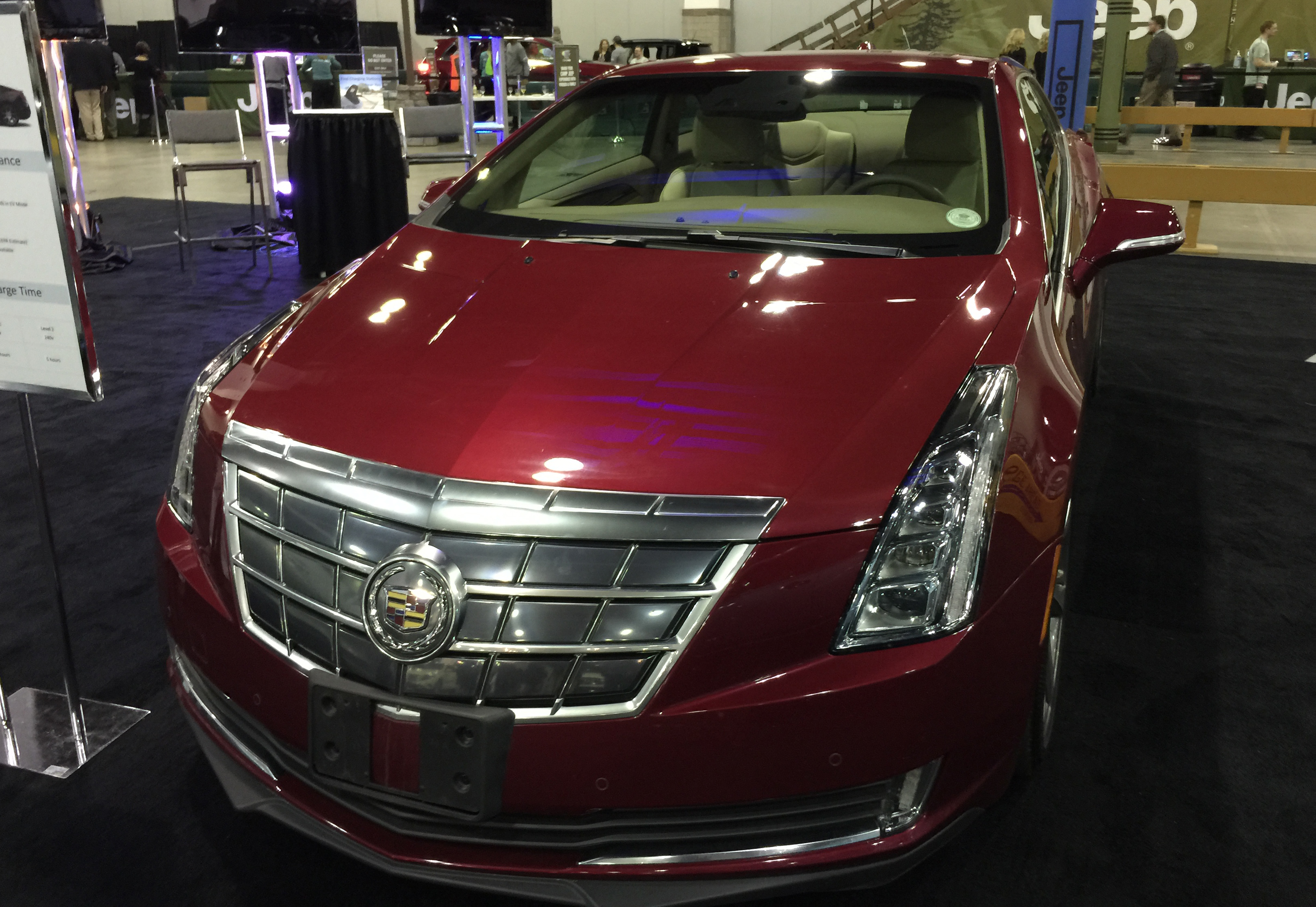 Photo: 2015 Denver Auto How CadillacELR