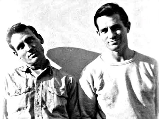 Photo: Neal Cassady and Jack Kerouac