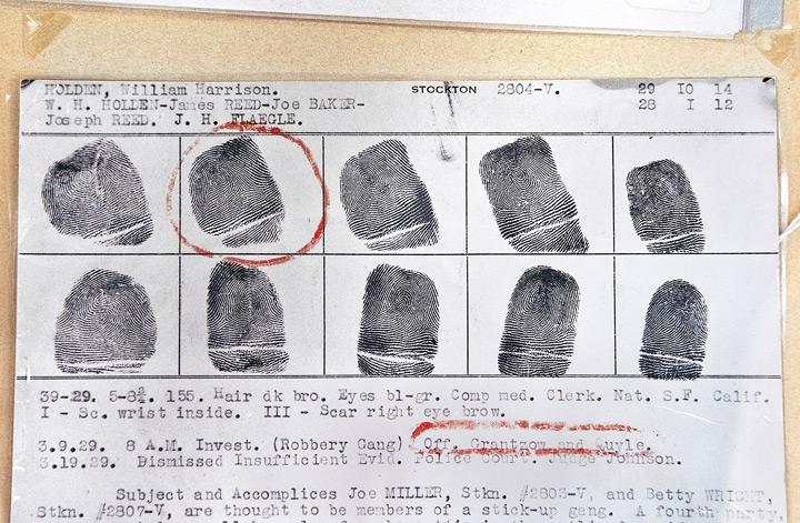 Photo: Fleagle Gang Fingerprints