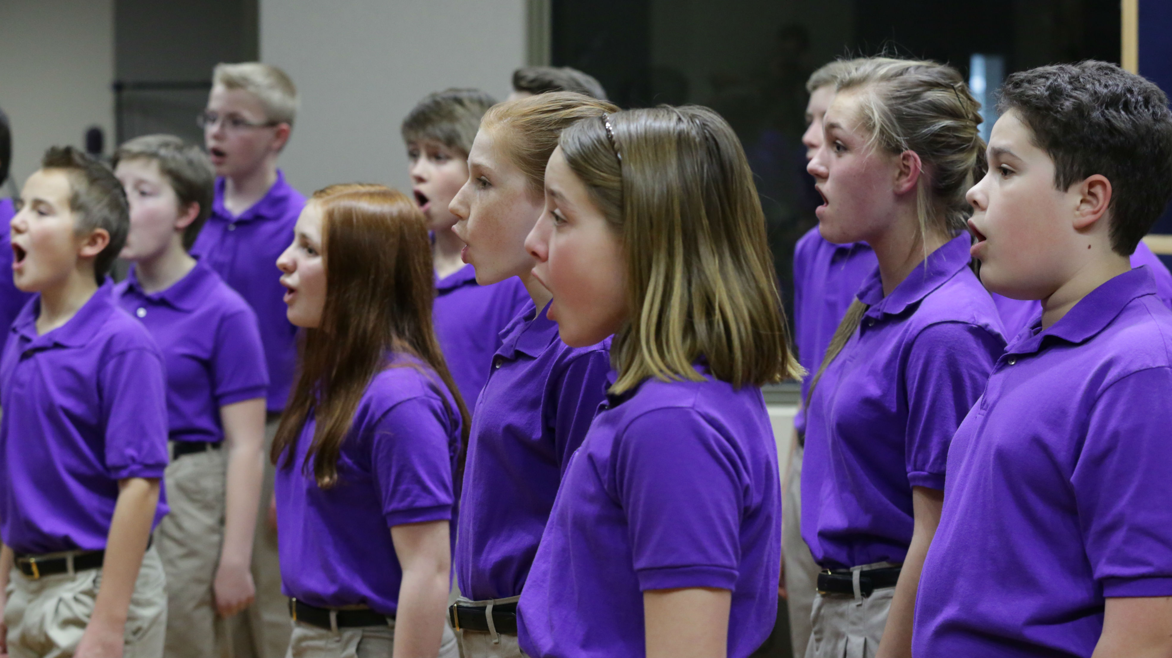 Photo: CCC sings national anthems