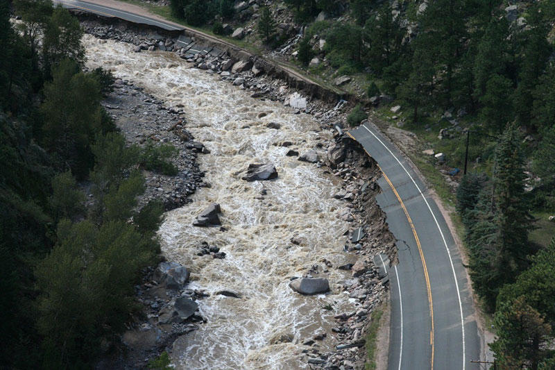 Photo: 2013 Flood Damage On US 34