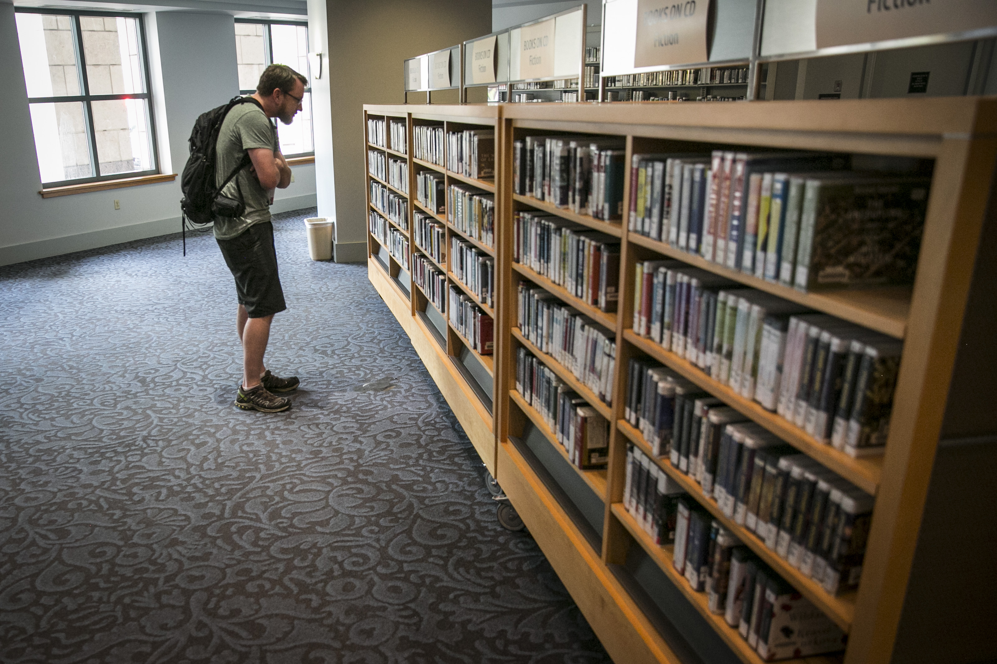 Photo: Denver Central Library 1 | Perusing audio books