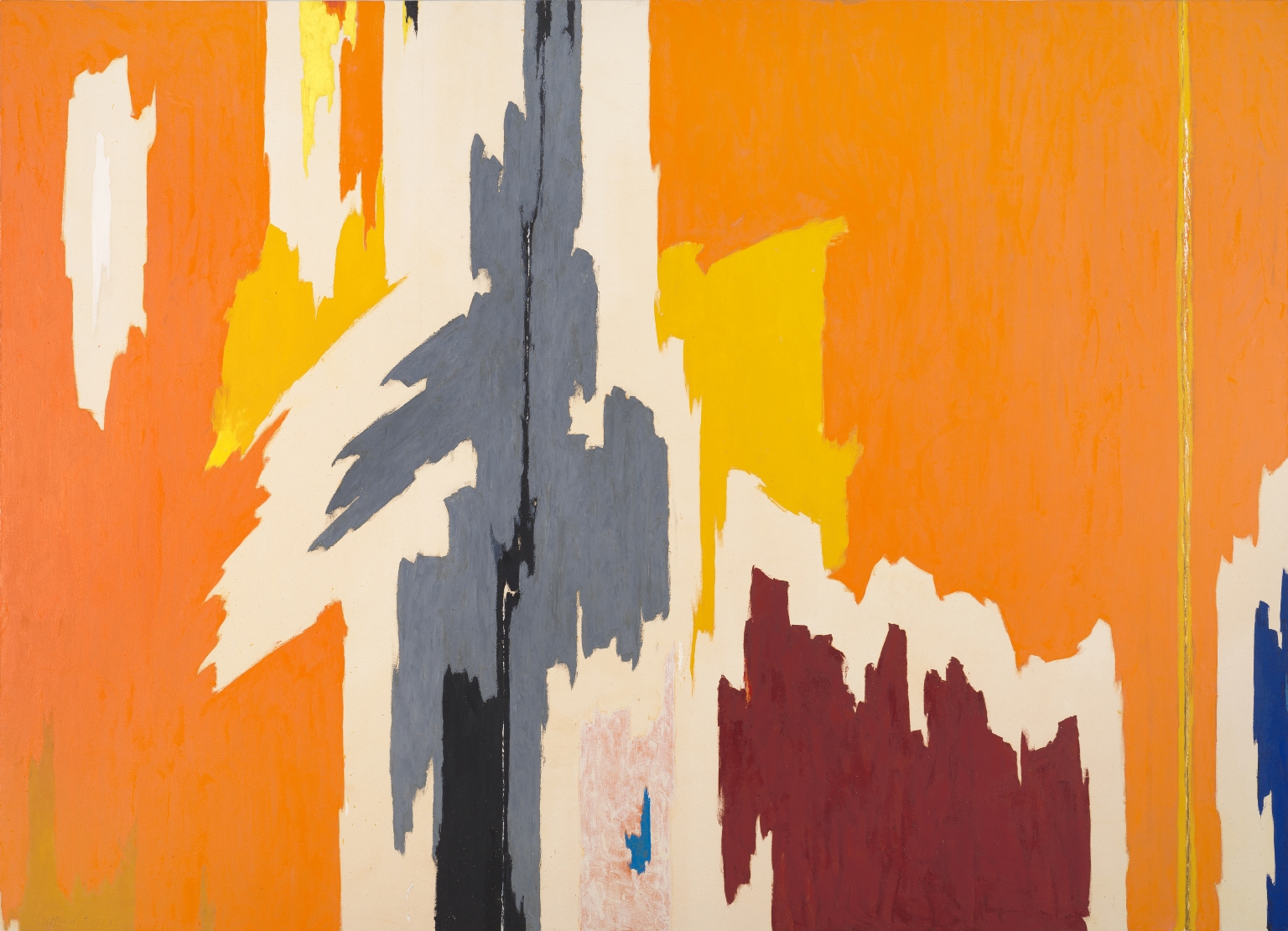 1959painting by abstract artistClyfford Still.