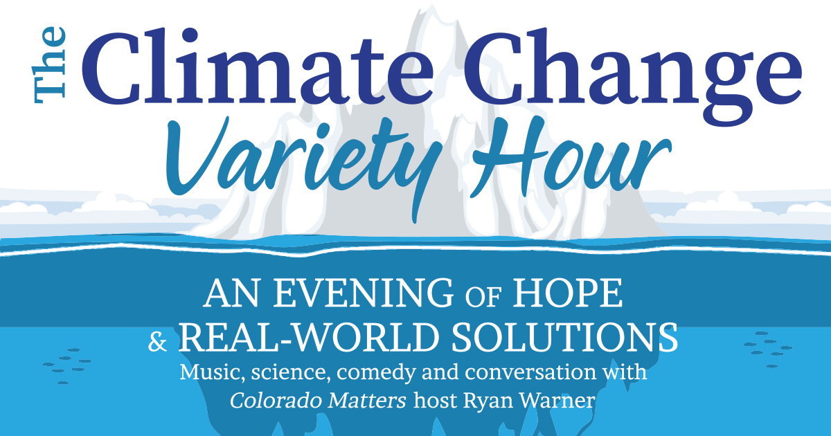 Climate Change Variety Hour Banner