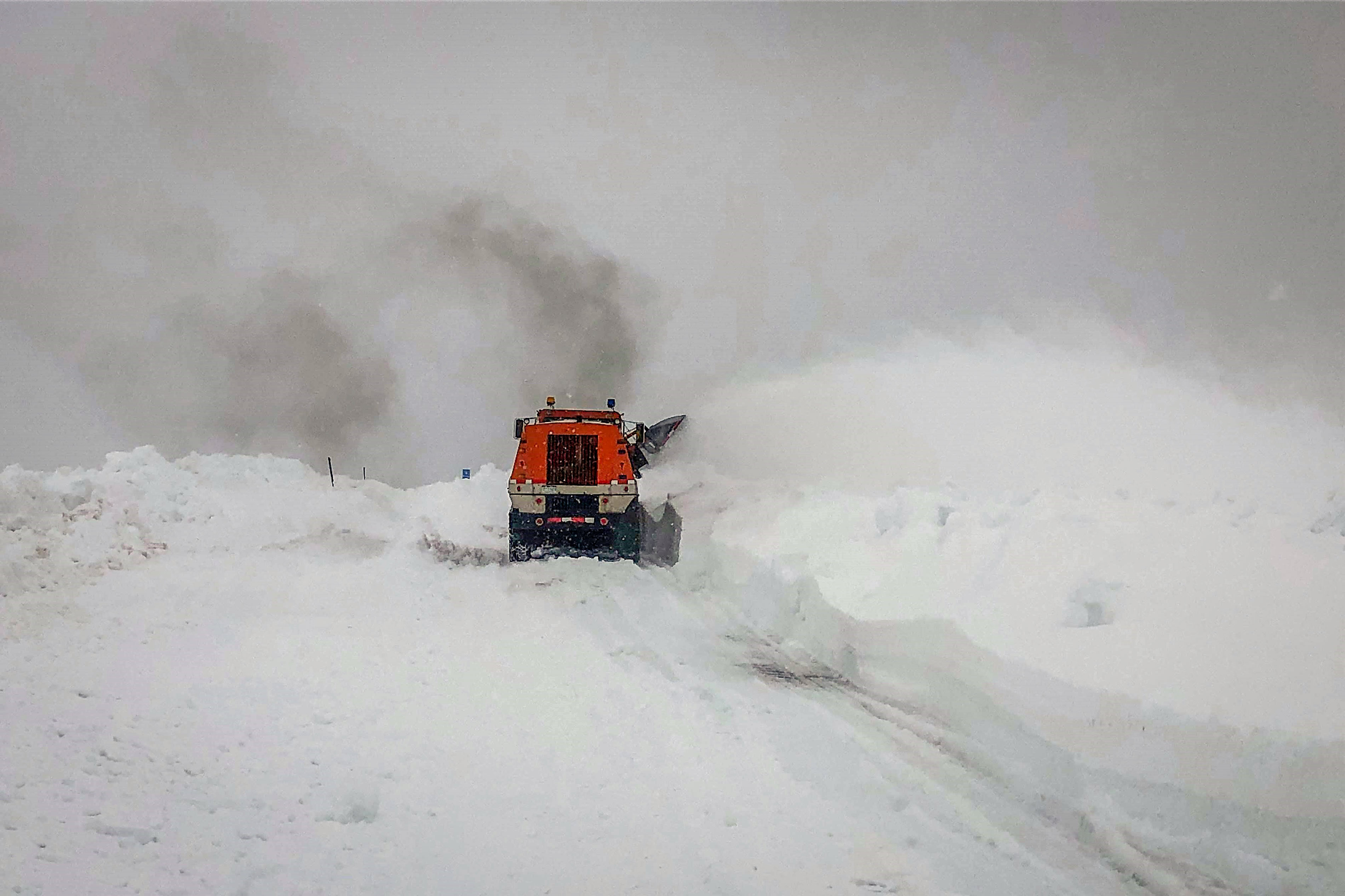 Photo: Independence Pass Snowed In 2 - CDOT