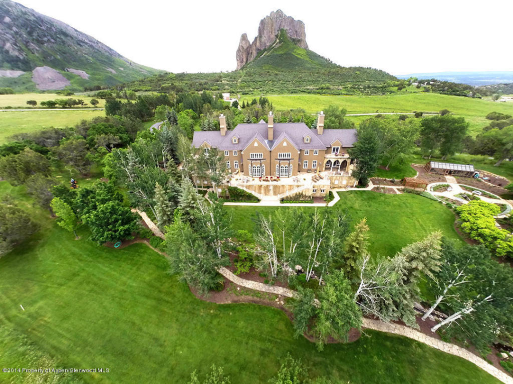 Photo: Joe Cocker's mansion in Colorado