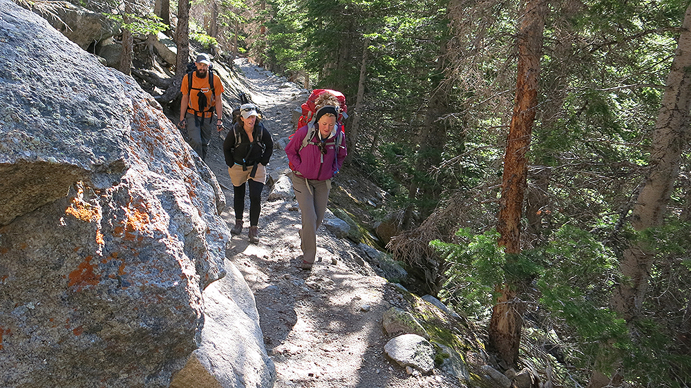 Photo: Climate Change, Rocky Mountain National Park, Hiking To Loch Vale