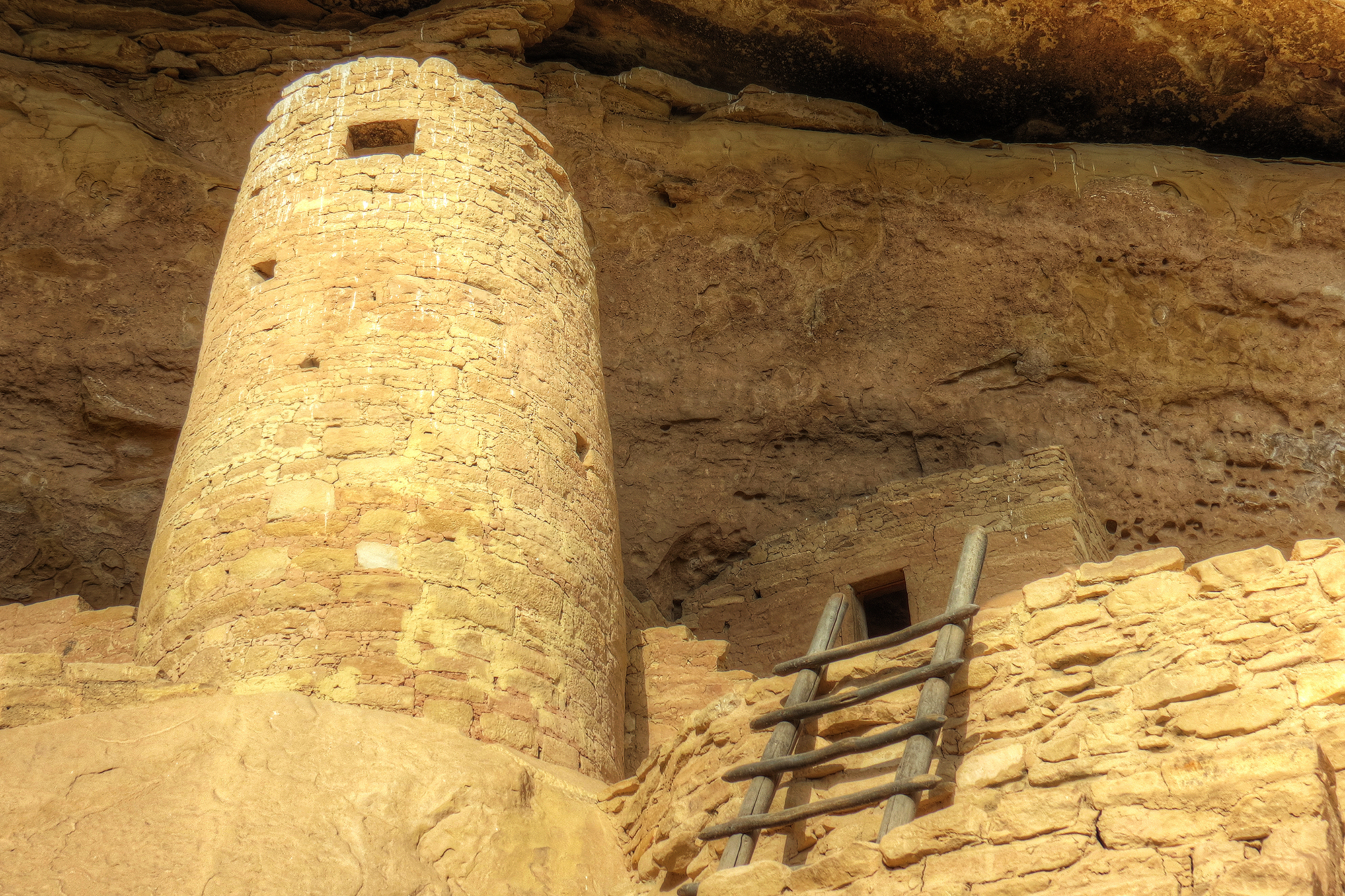 Photo: Spruce Tree House Close Up, Mesa Verde National Park