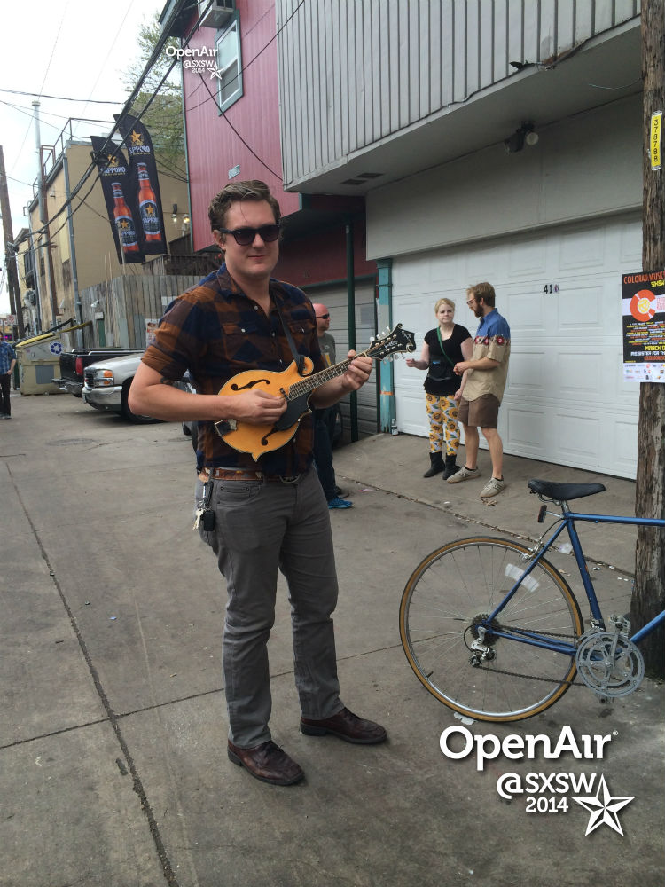 photo: Cole Rudy at SXSW