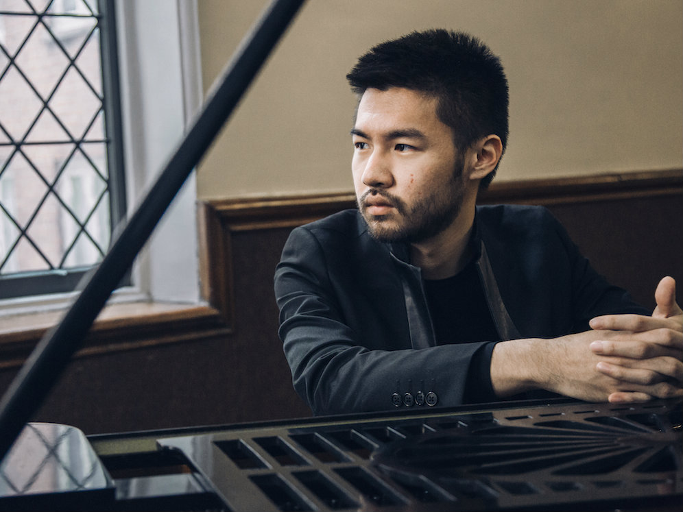 Photo: Conrad Tao at piano