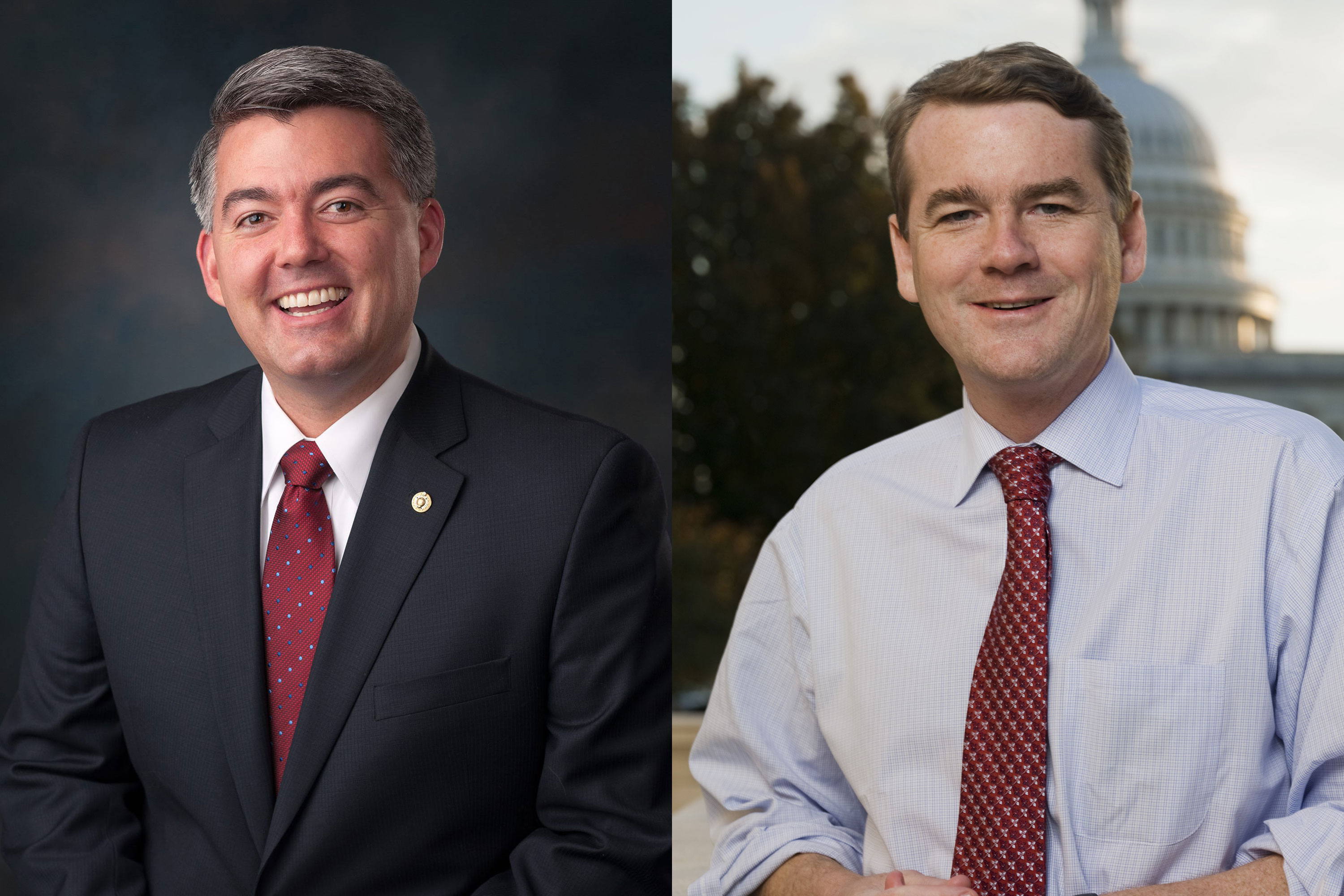 Photo: Colorado Senators Gardner & Bennet | Official Portraits