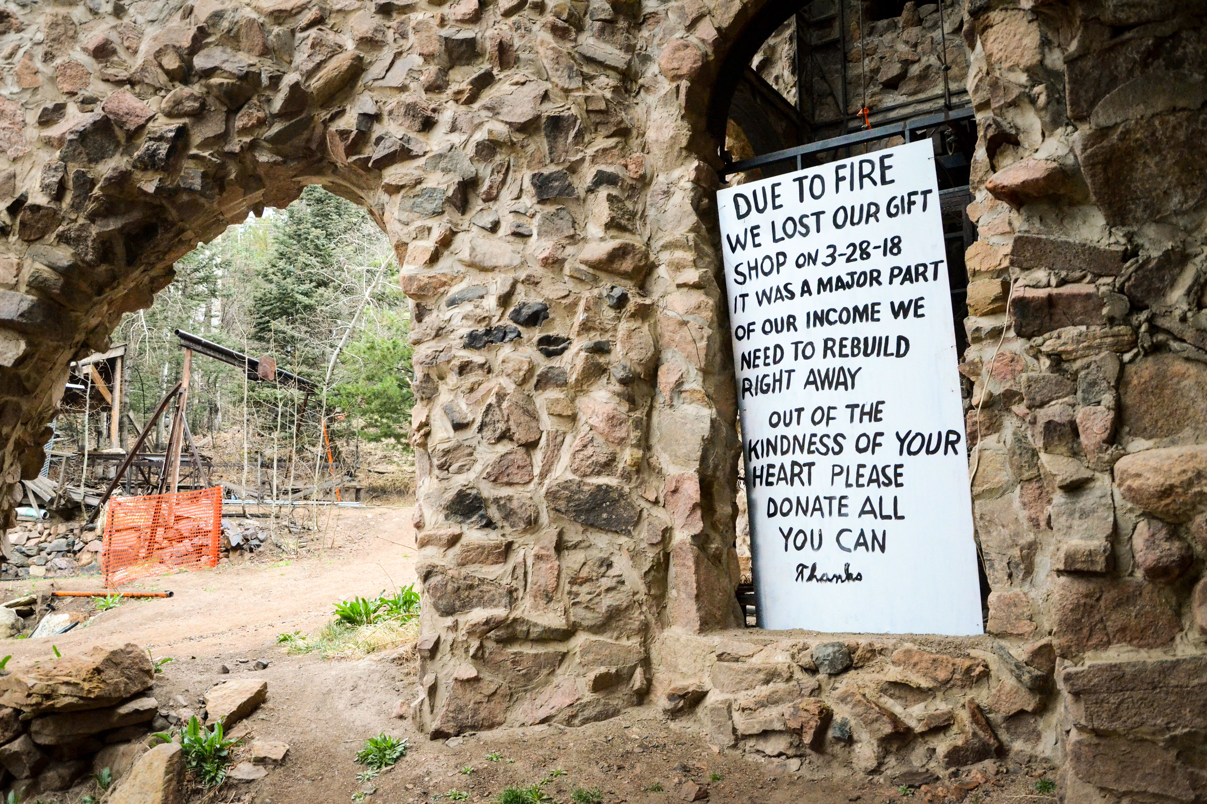 Photo: Bishop Castle 4 | Fire Sign - AAwad