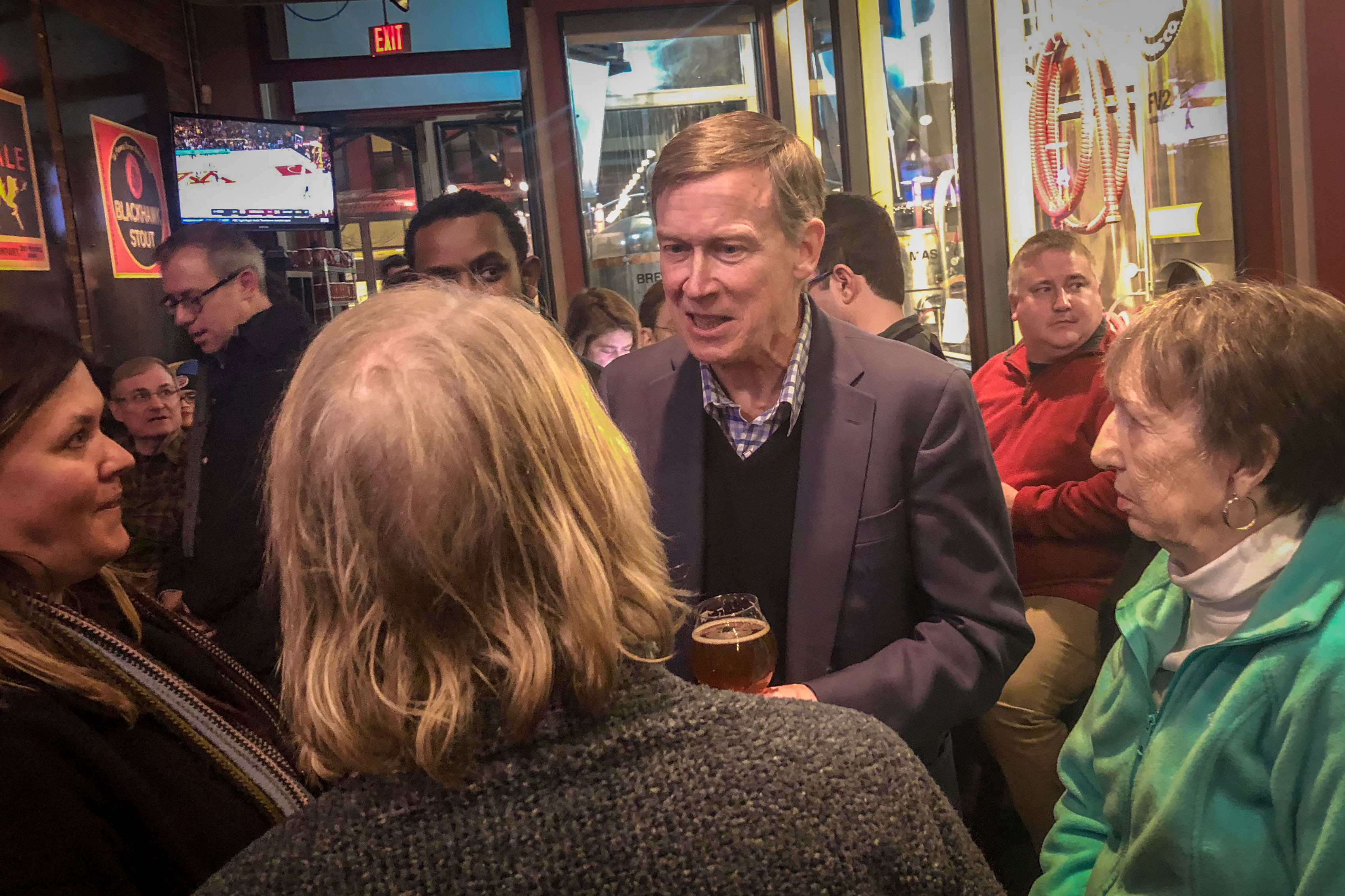 Photo: Hickenlooper January Iowa | Brewery Visit - ACotton