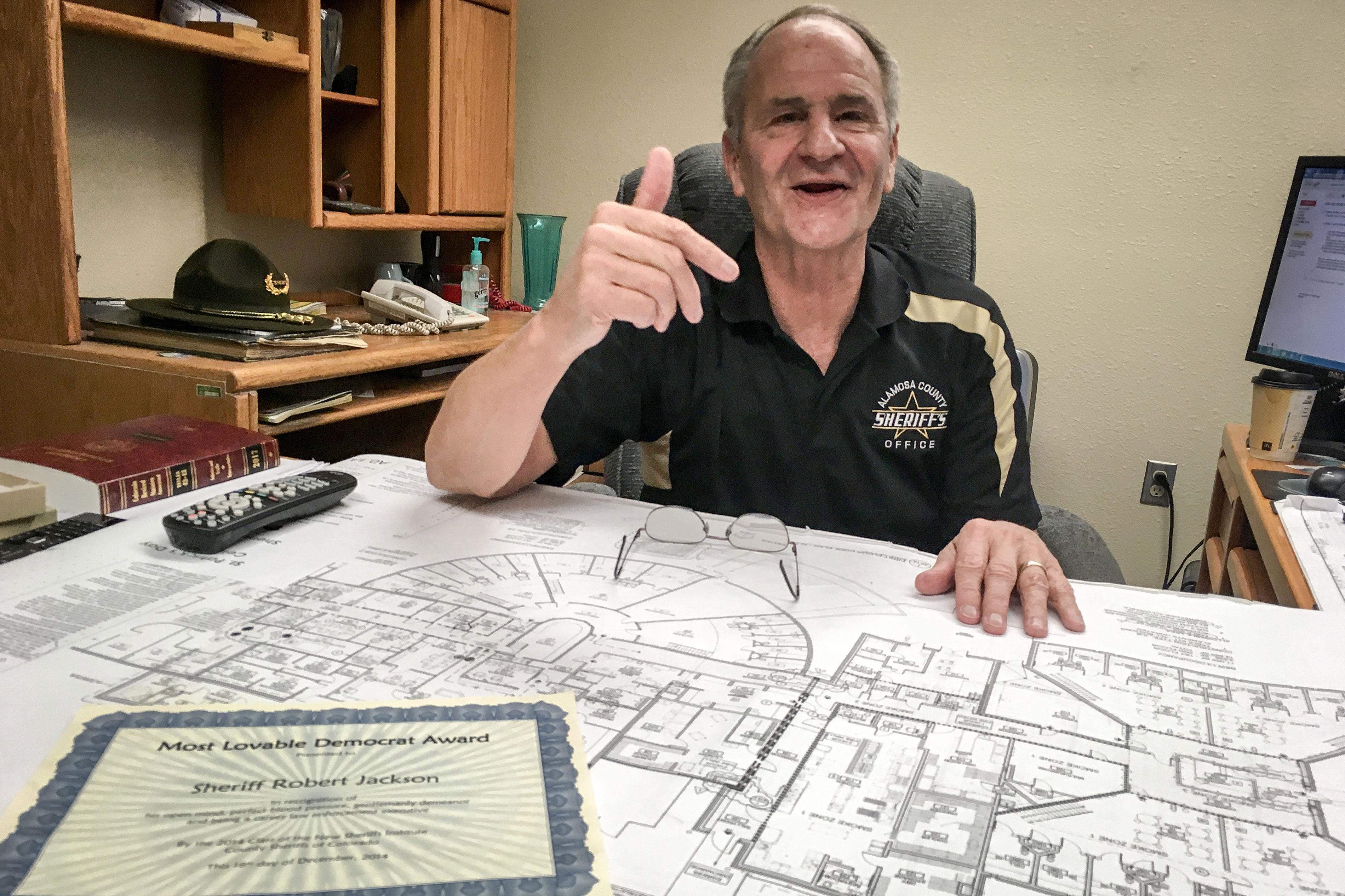 Photo: Alamosa Jail Crowding 1 | Sheriff Bob Jackson - ASherry