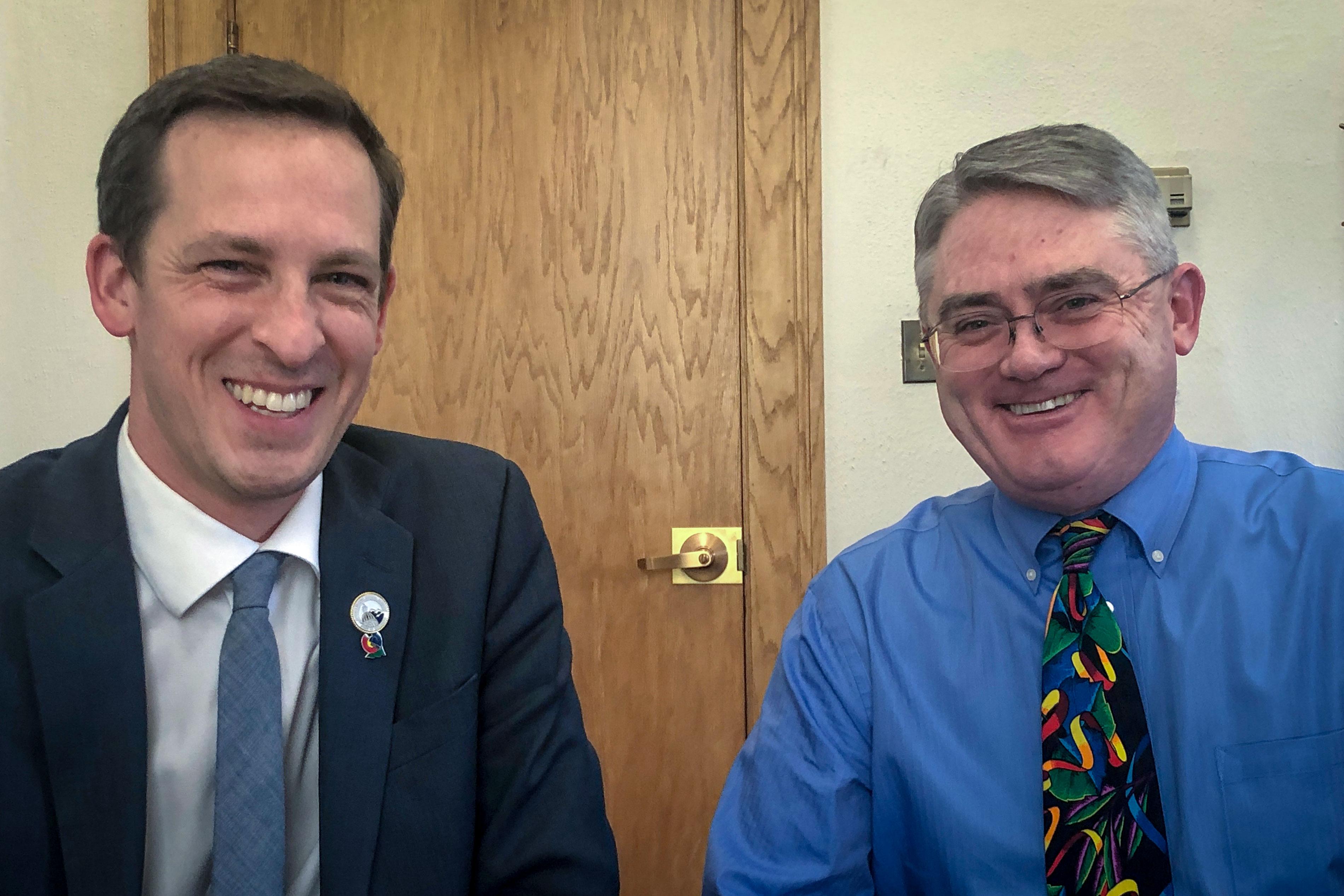 Photo: COLEG 2019 Budget Compromise | Fenberg & Holbert - BBirkeland