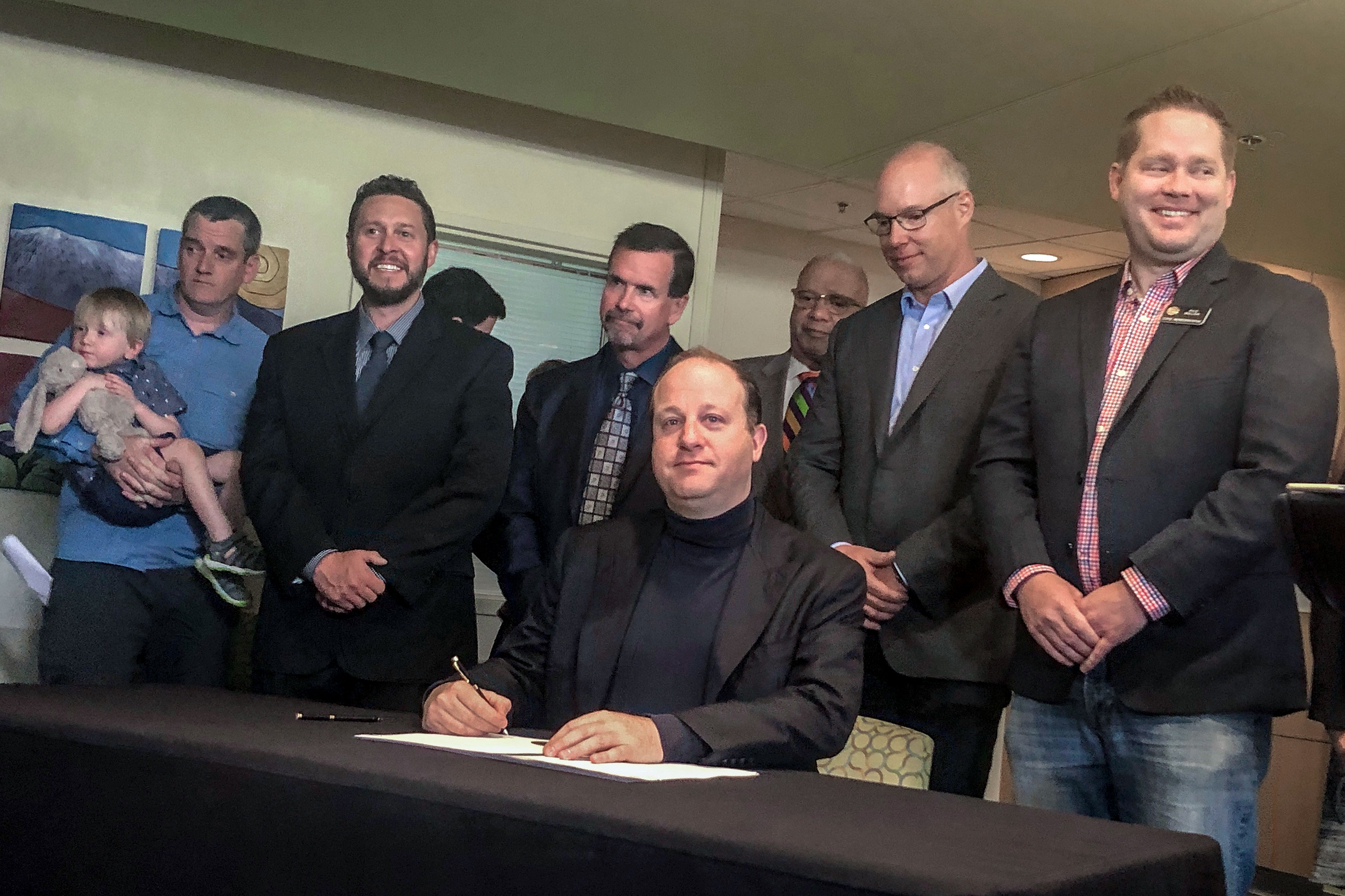 Photo: Polis Signs Vaccination Exec Order | June 13 - BBirkeland