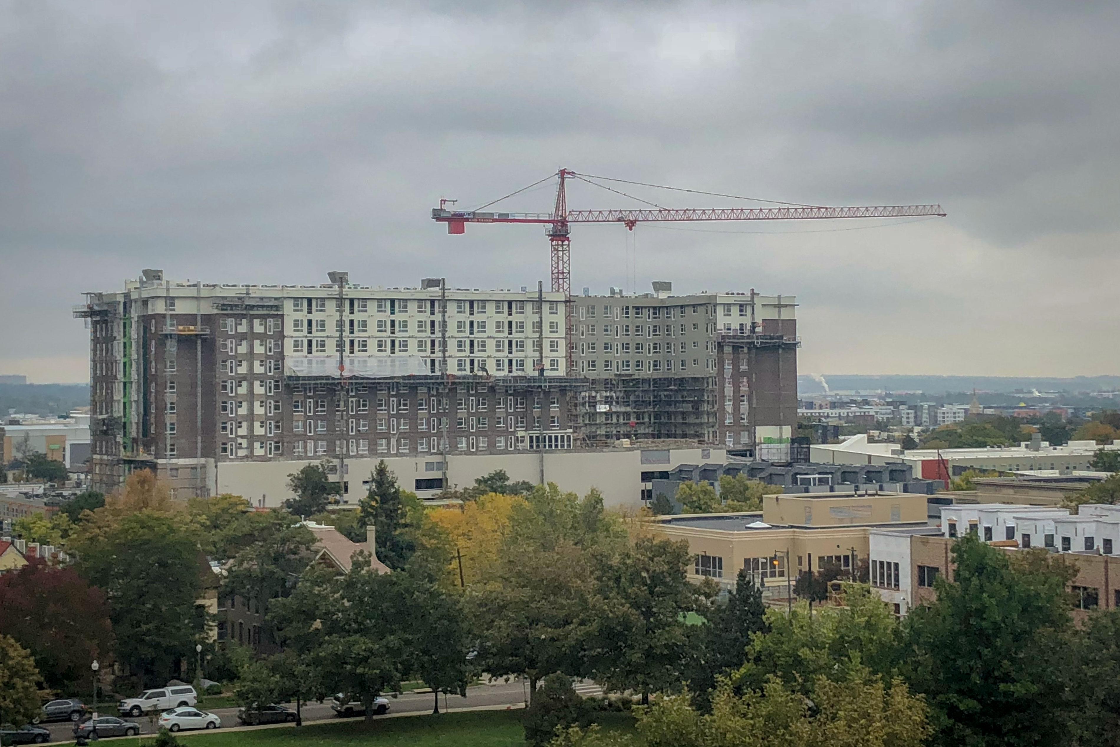 Photo: Denver Peak Apartments 1 | Downtown Under Construction - BMarkus