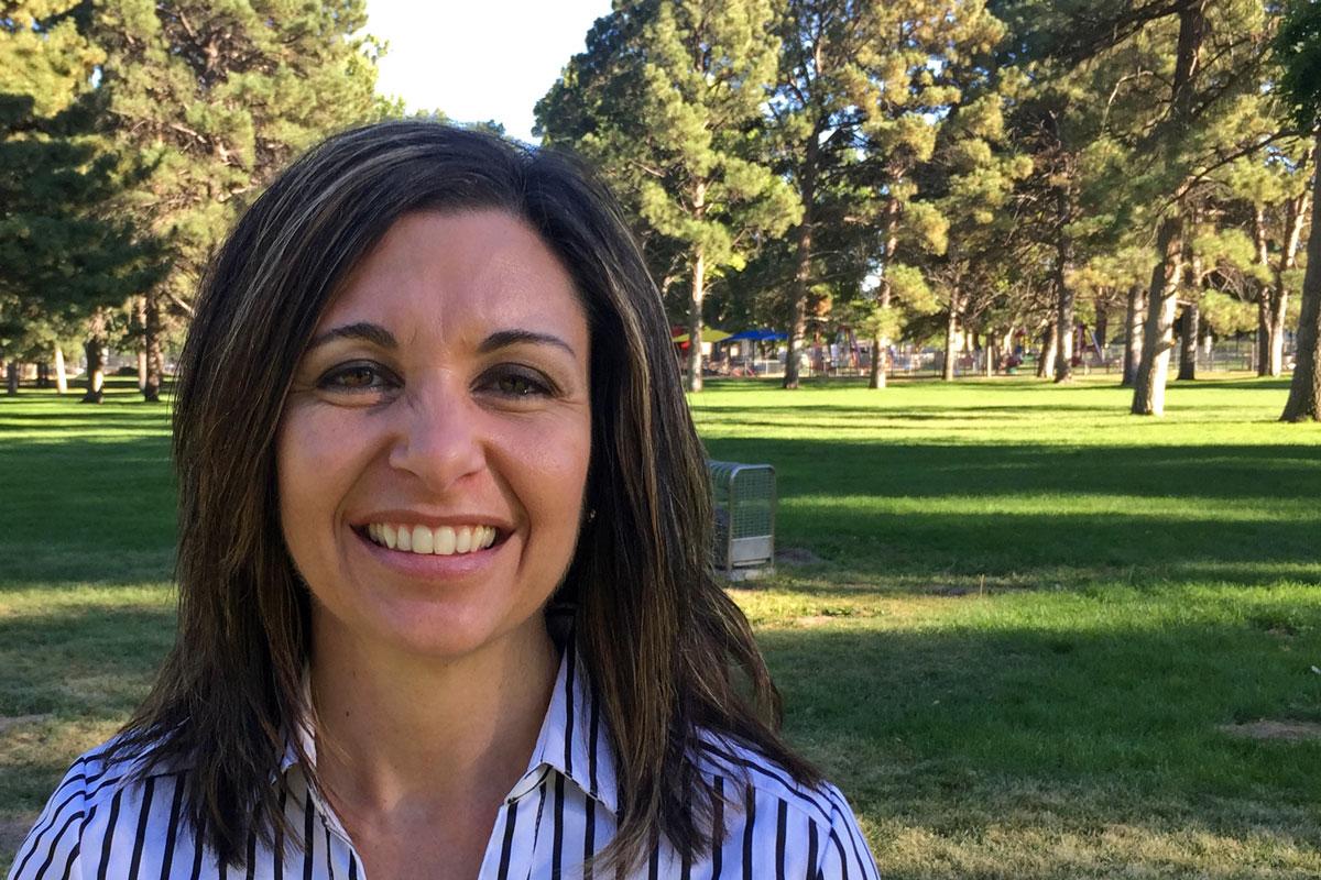 Photo: Pueblo Question 200 Supporter Paula McPheeters