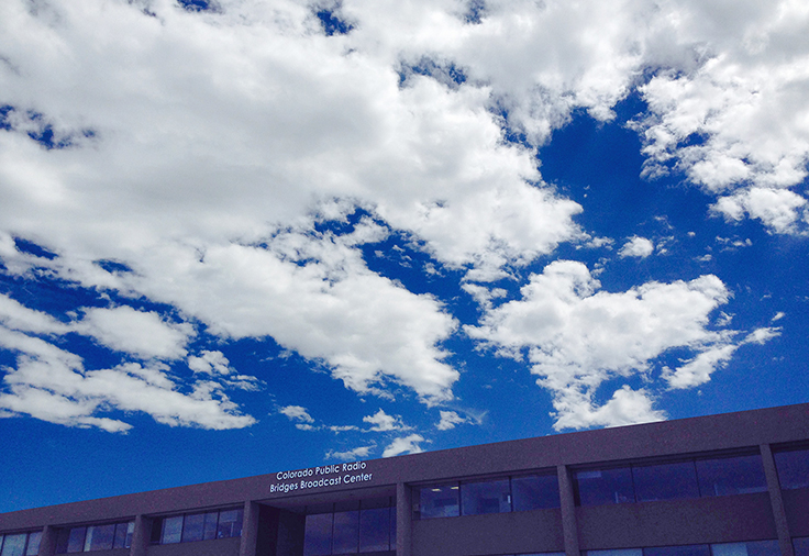 Photo: CPR building, blue sky