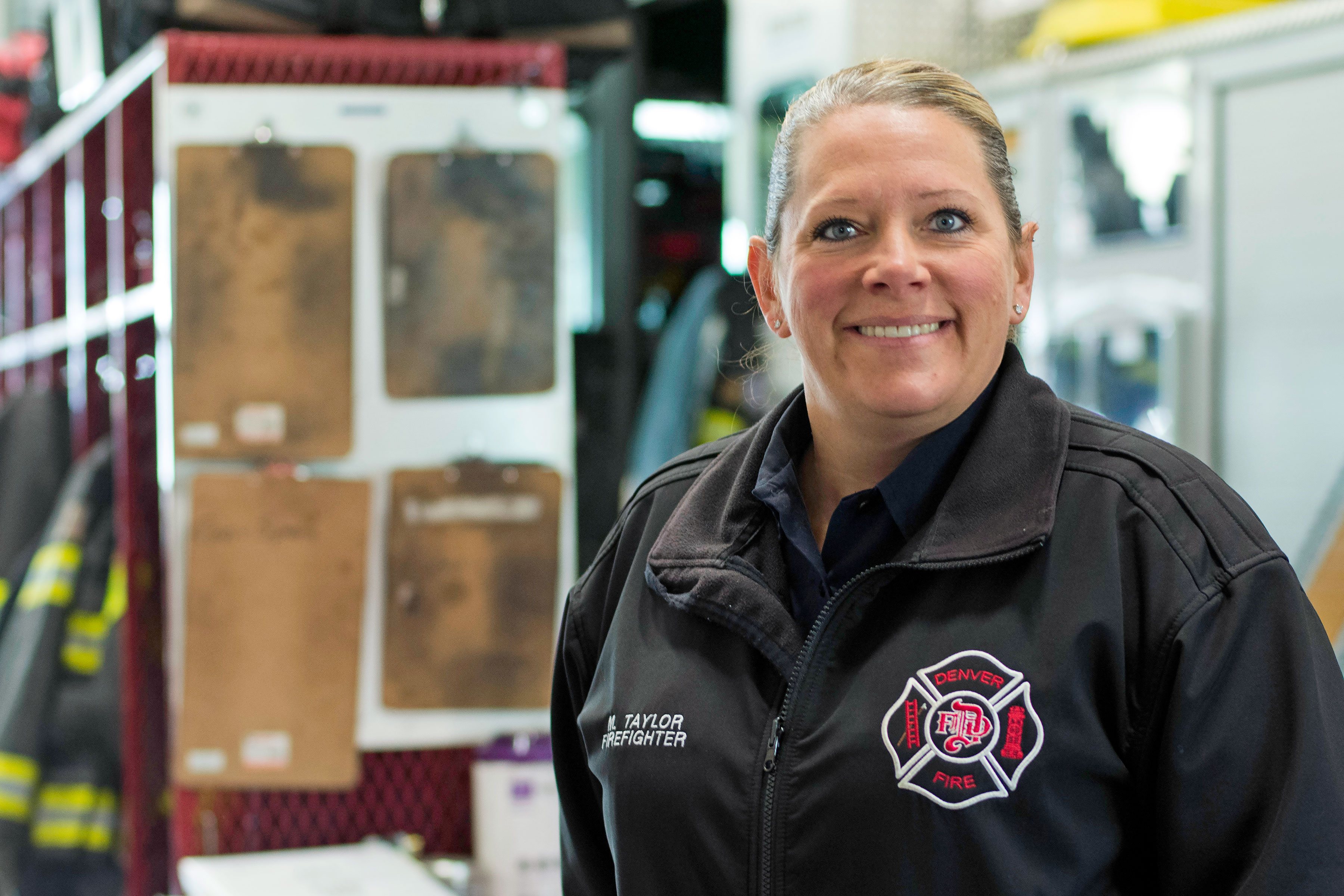 Photo: DIY Spaces City Meeting 1 | Denver FD Spox Melissa Taylor - CJones