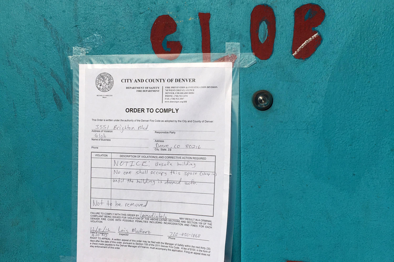 Photo: Rhinoceropolis Shutdown 1 | Fire Dept Order - CJones