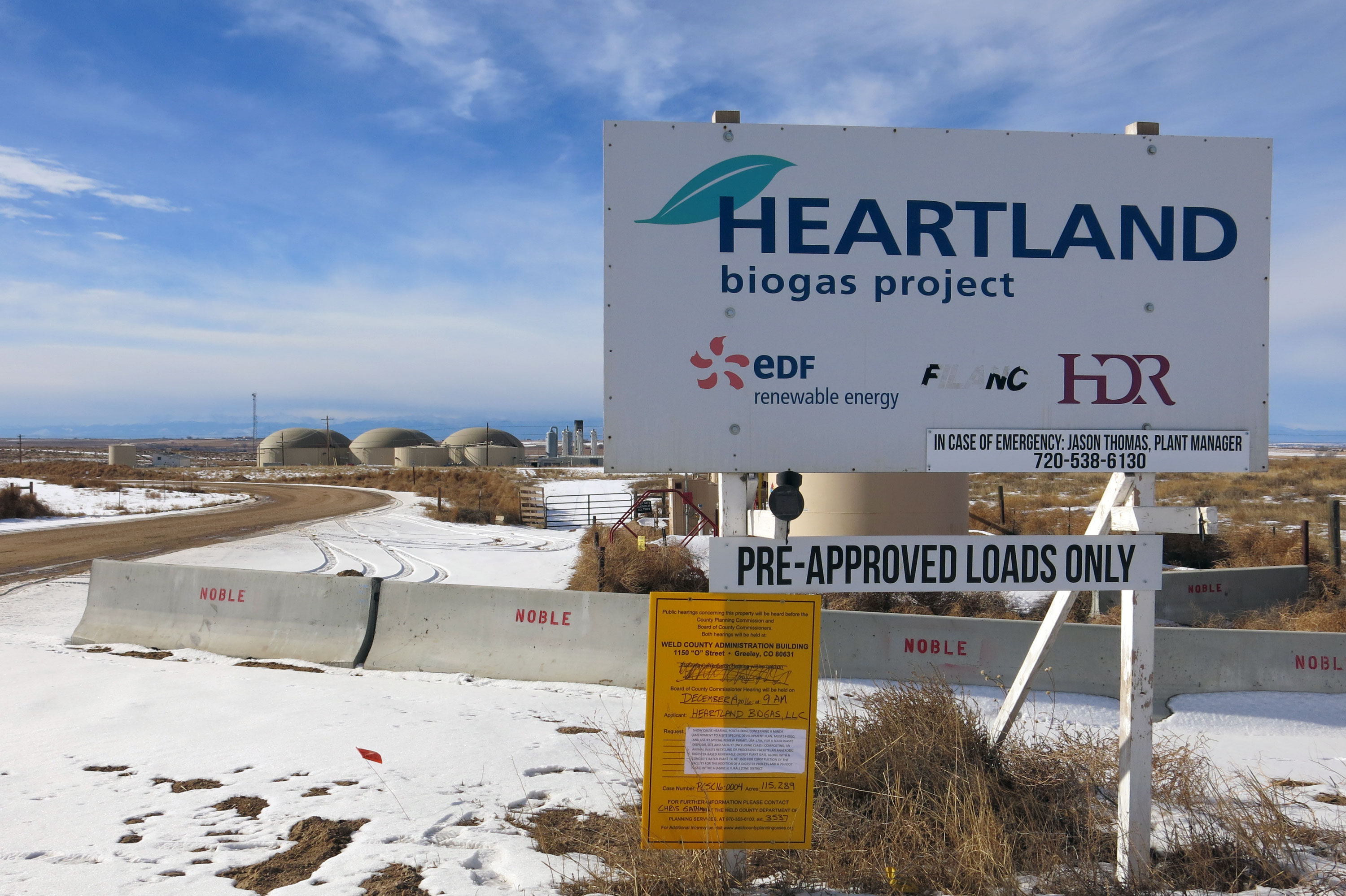 Fed Up With The Smell, Neighbors Want The Weld County Biogas Project