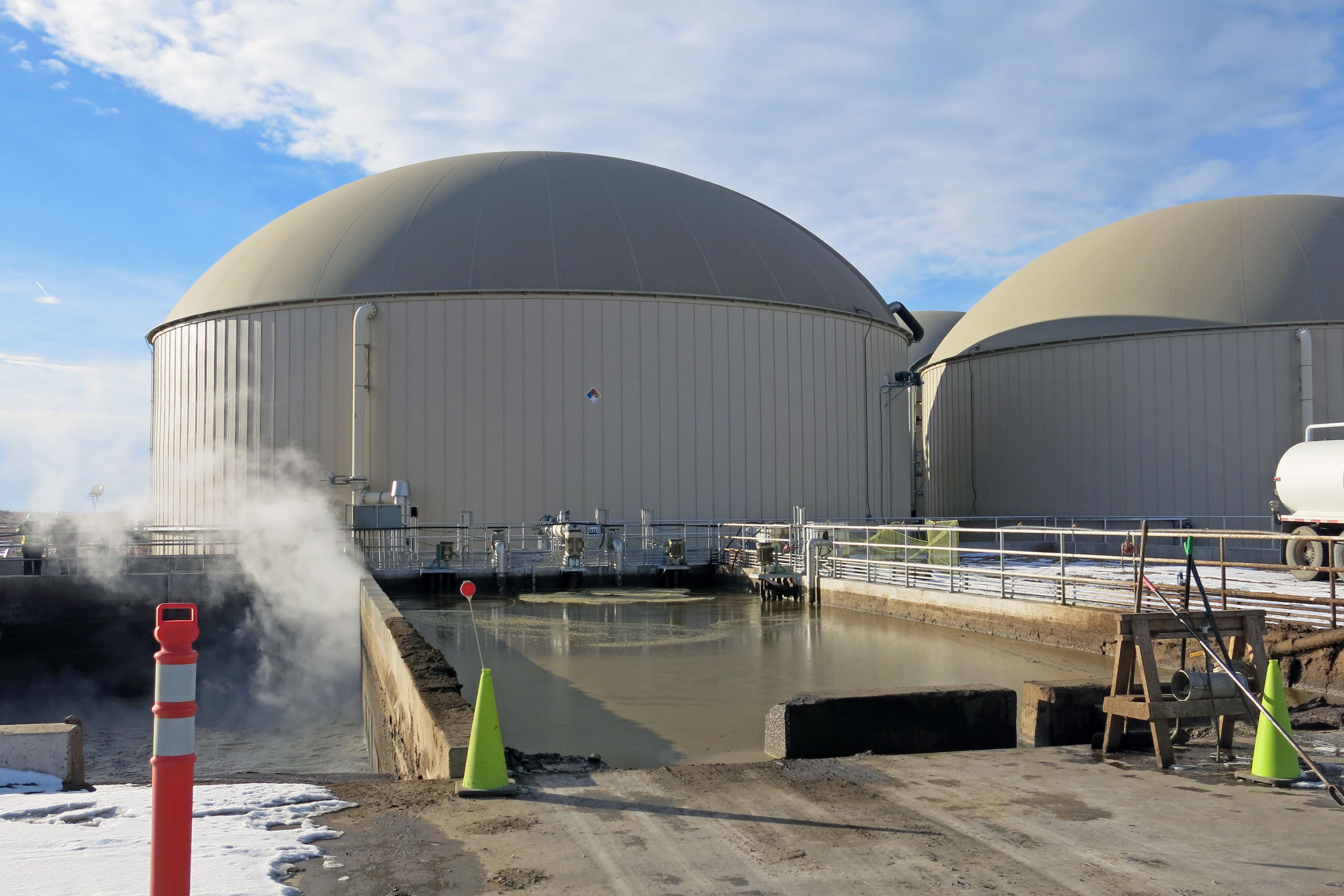 Photo: Weld Biogas Plant Smell 4 | Manure Pits - GHood
