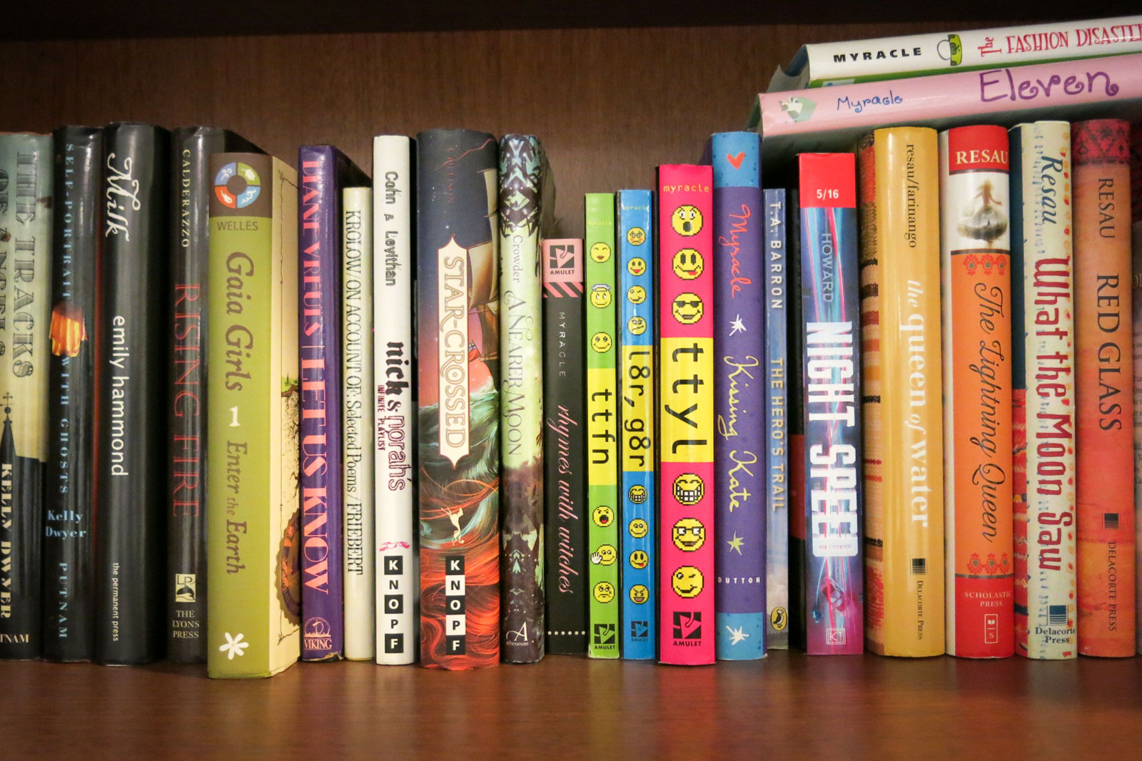 Photo: Enviro Lit Fiction 2 | Todd Mitchell's Bookshelf - GHood
