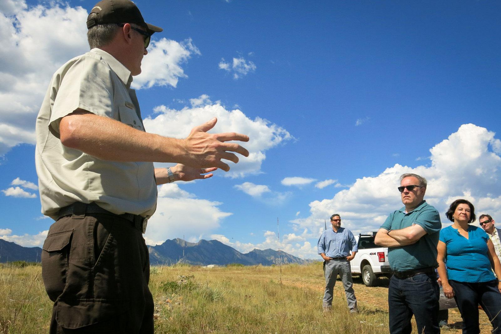Photo: EPA Wheeler Rocky Flats Visit 1 | Lucas and Wheeler - GHood