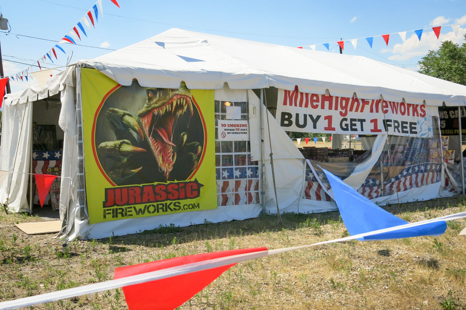 Photo: Fireworks Stand Adams County | Jurrassic Fireworks - GHood
