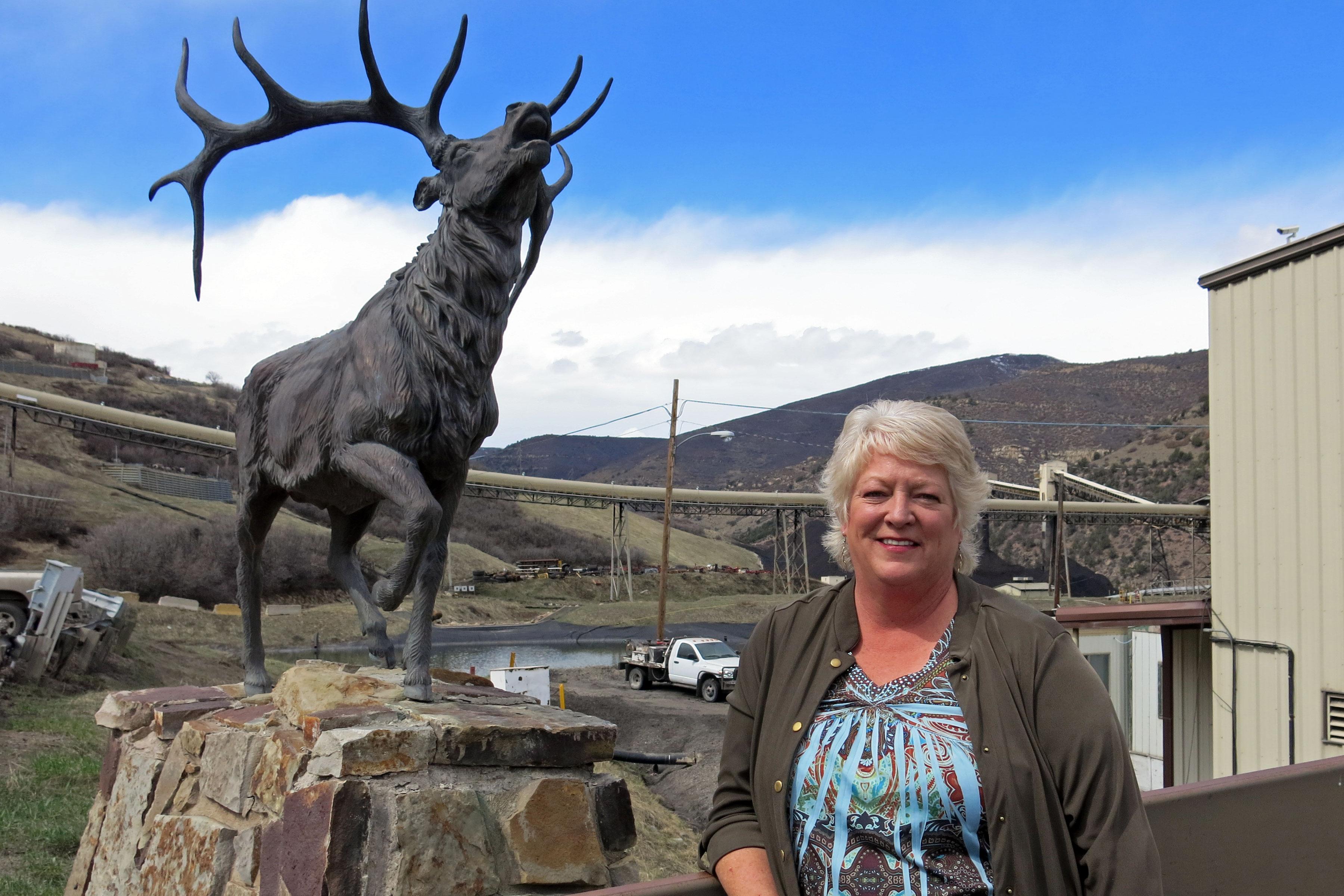 Photo: West Elk Mine Coal 1 | Kathy Welt - GHood