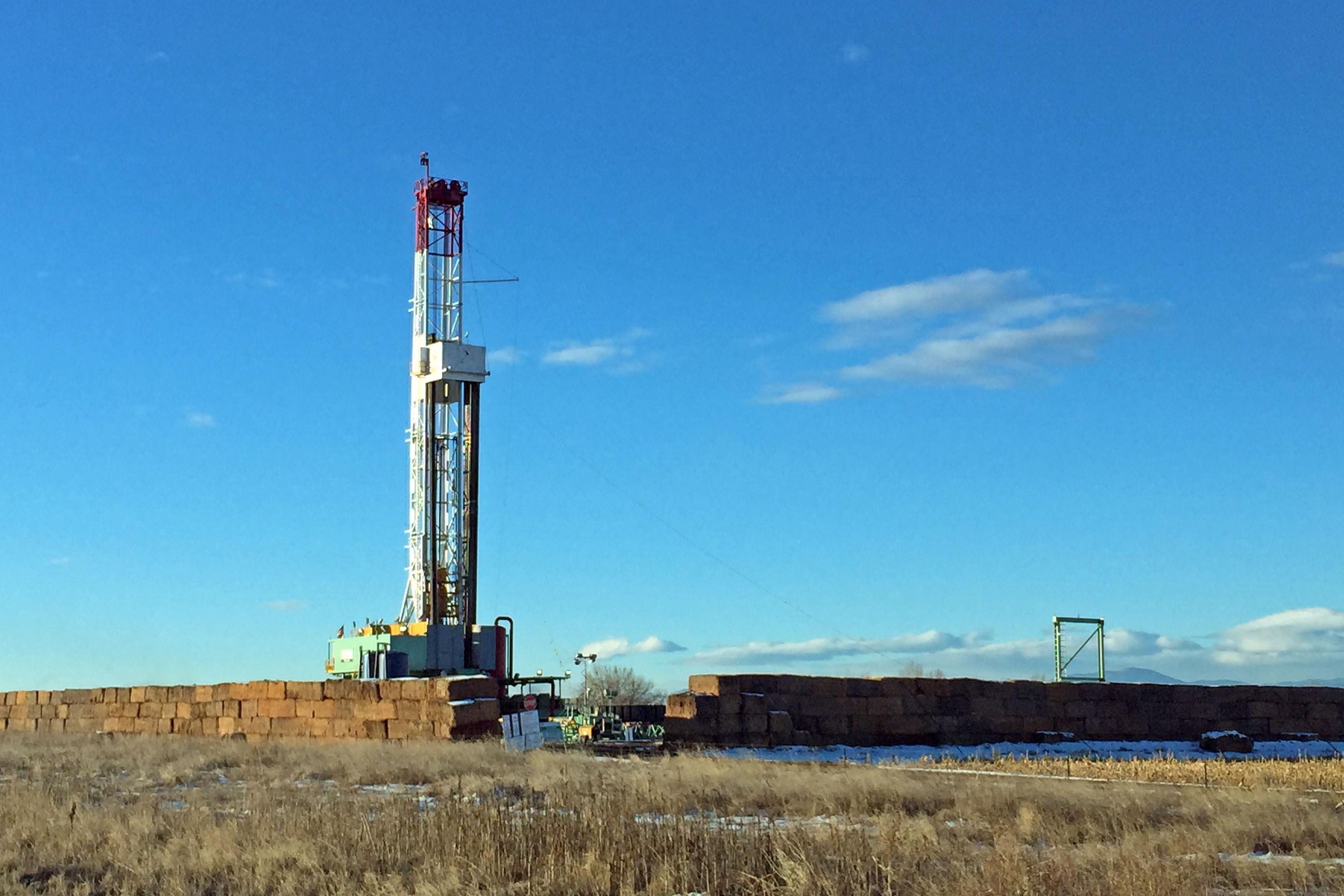 Photo: Drill Rig Near Longmont - GHood