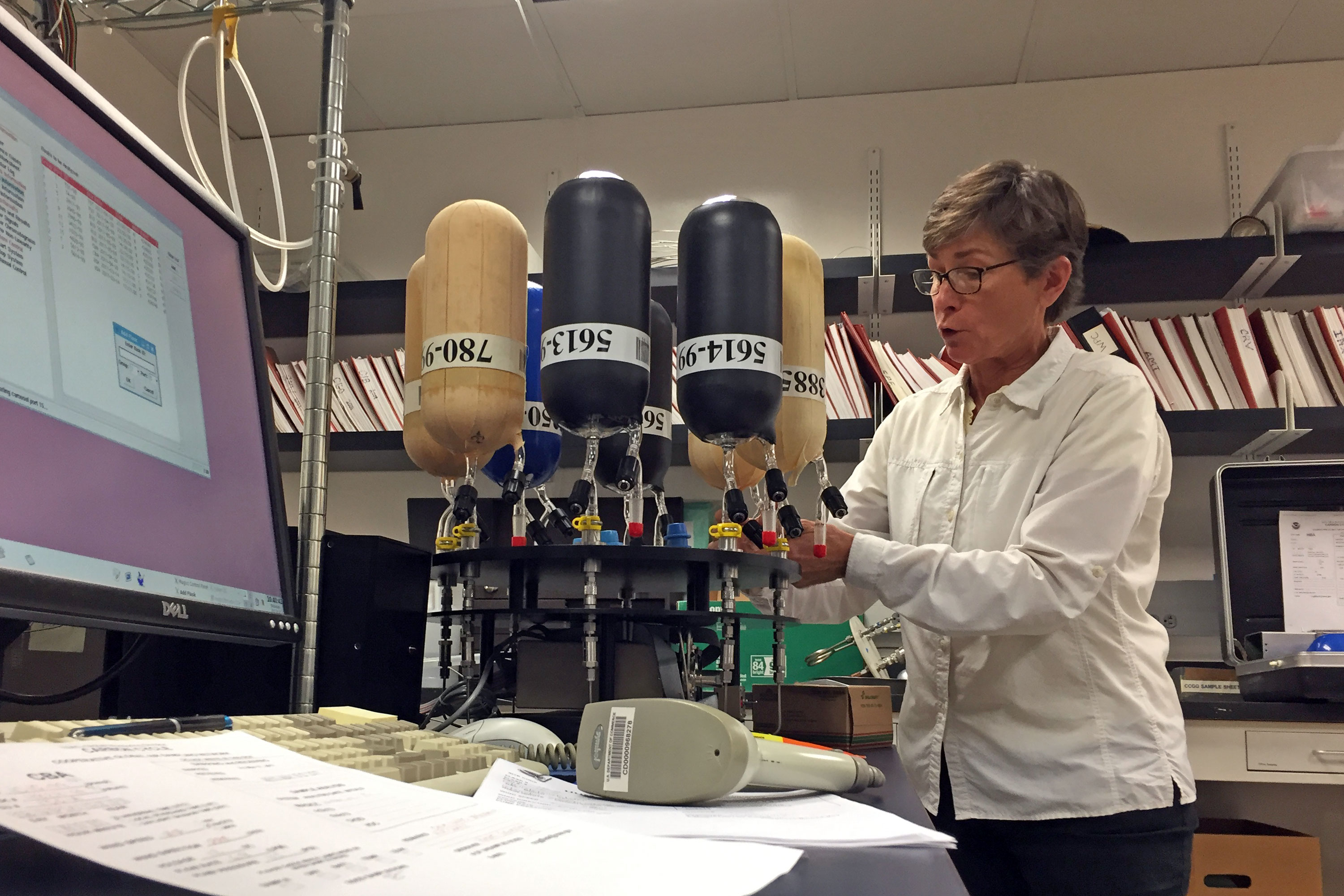 Photo: Boulder CO2 Research Worries 4 | NOAA GMD Lab Pat Lang - GHood