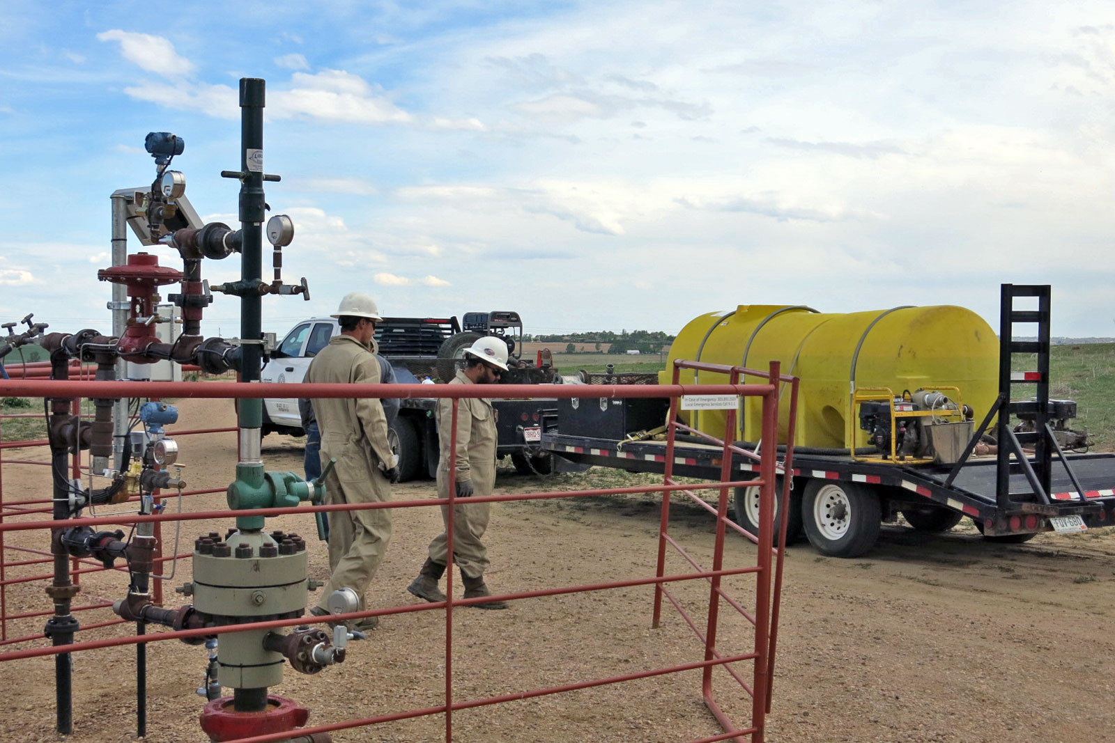 Photo: Well Services Company Pressure Testing A Windsor Well - GHood