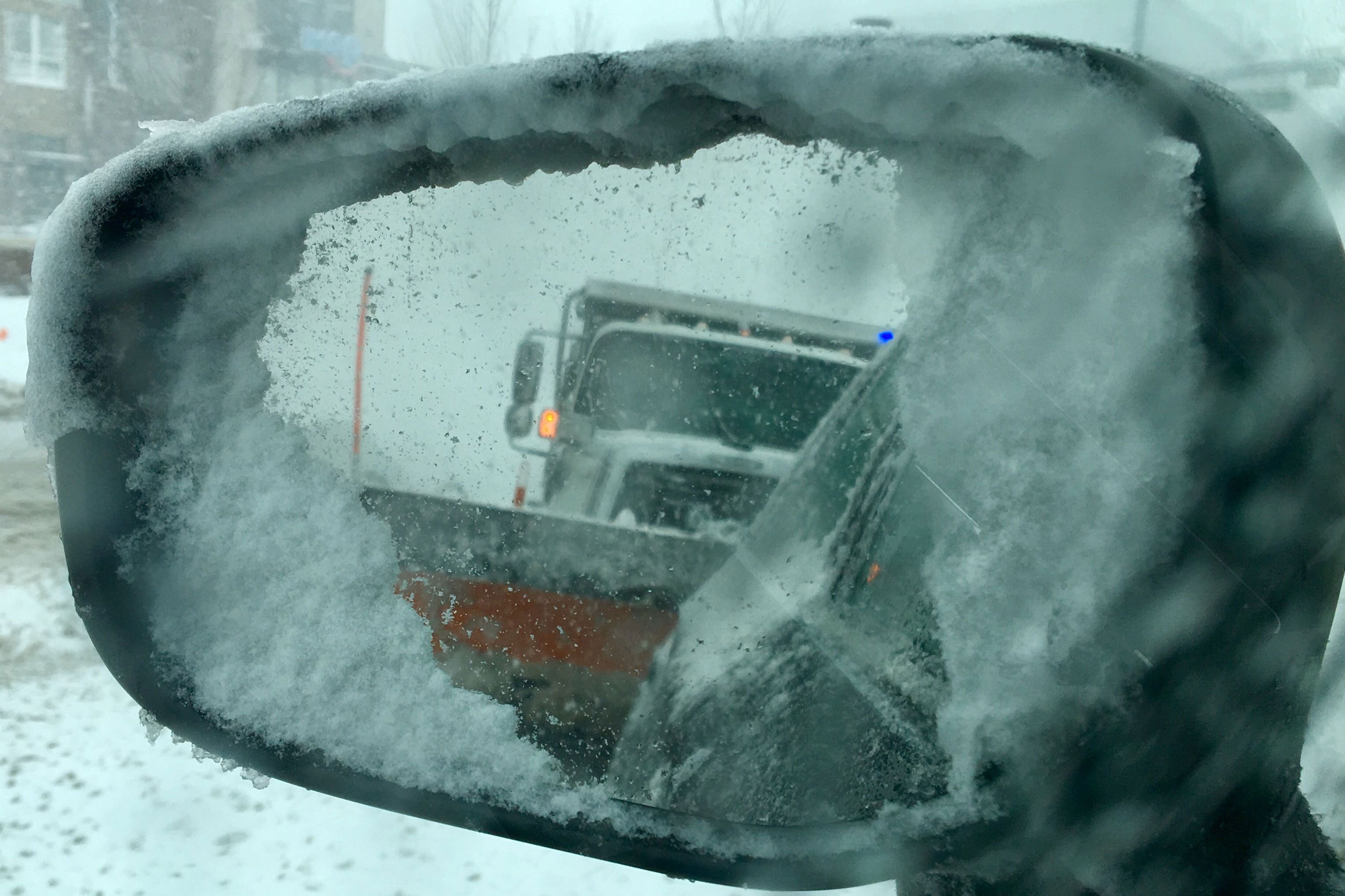Photo: Bomb Cyclone 15 | Plow In Mirror - HVD
