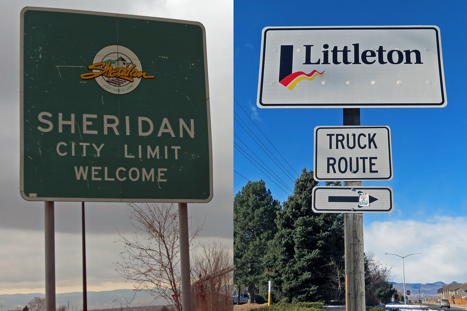 Photo: Two Districts Funding 1 | Sheridan, Littleton Signs - JBrundin