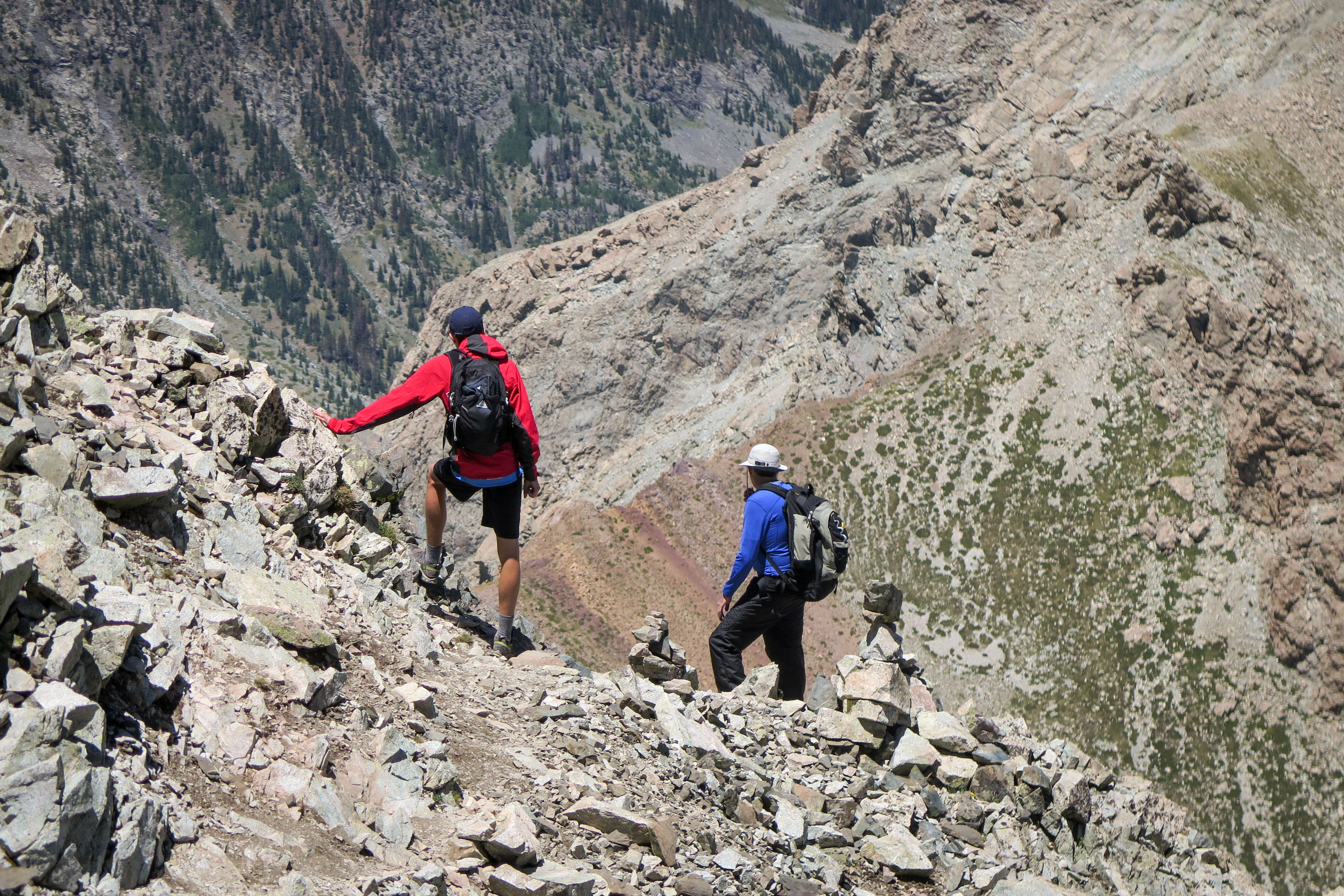 Photo: 14er Safety 1 | Mt Lindsey Climbers - JDaley