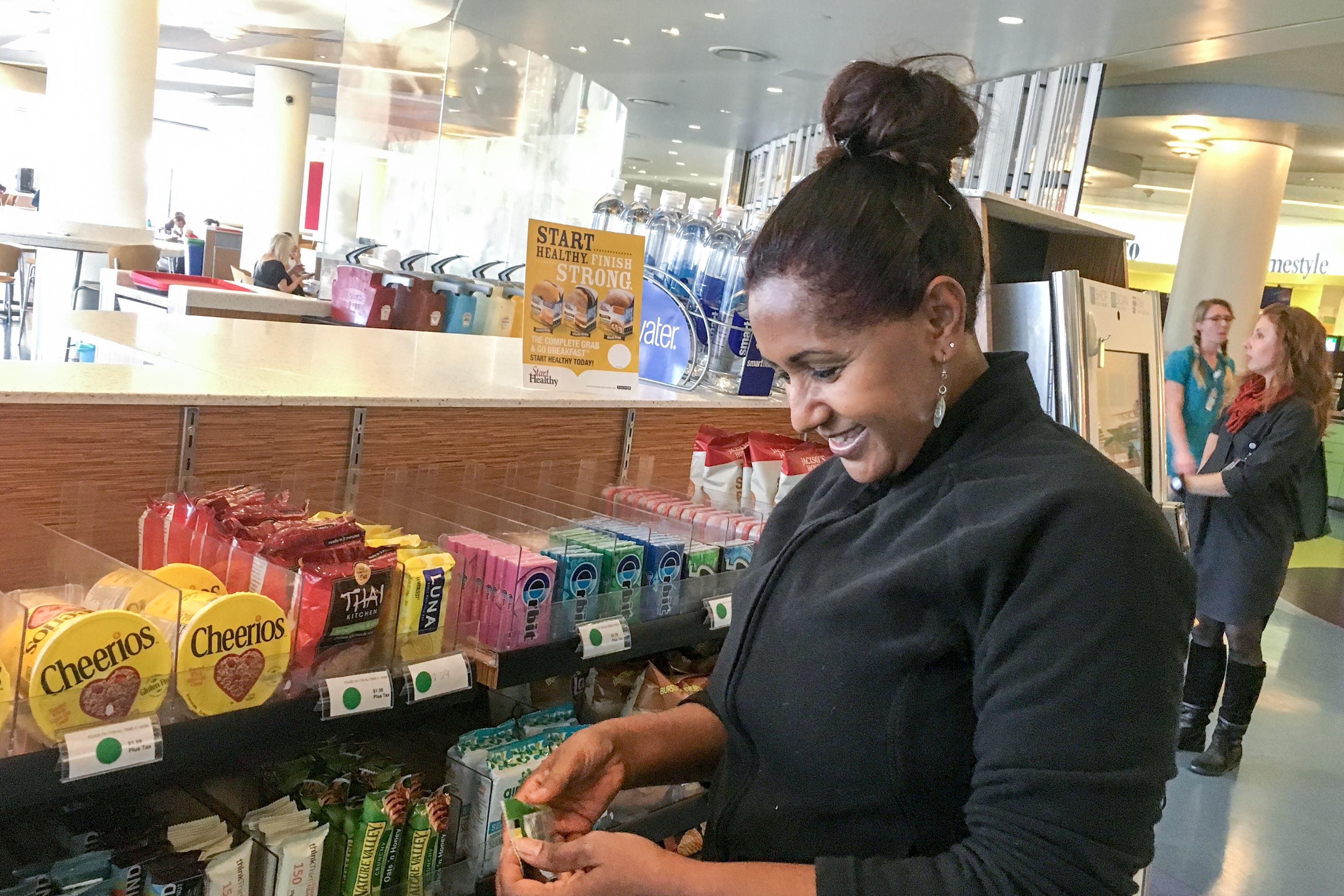 Photo: Healthy Hospitals 3   Children's Cafeteria Snacks - JDaley
