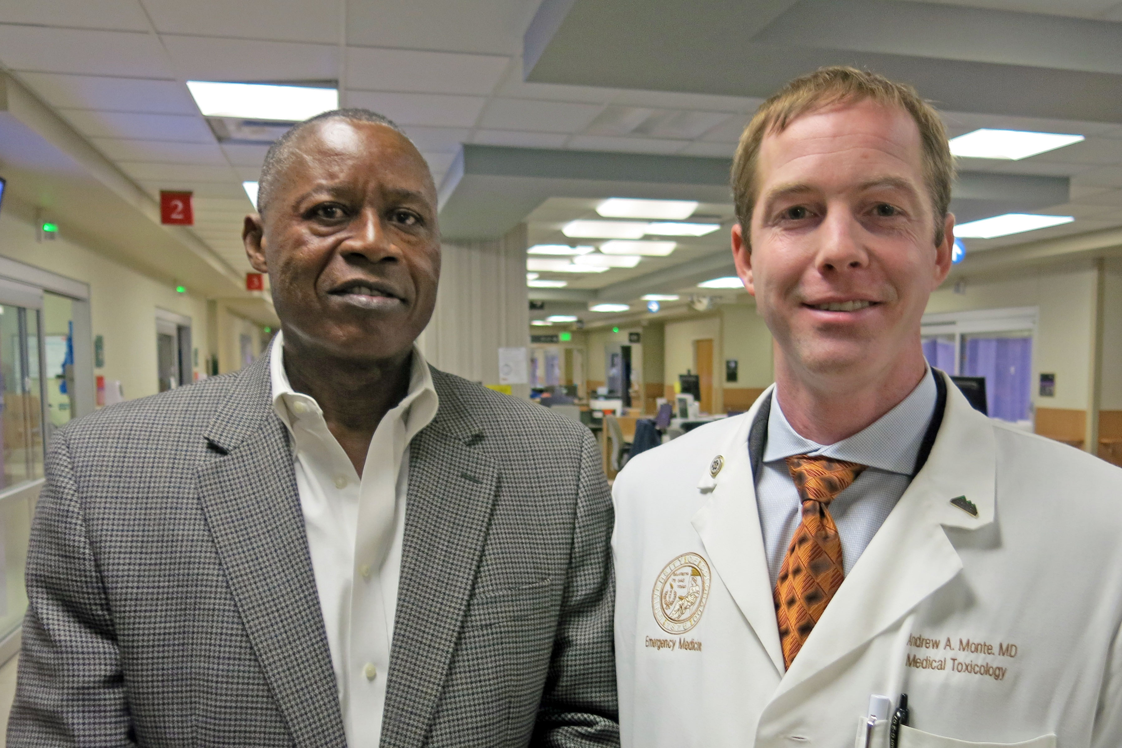 Photo: NIH Med Research Cuts 3 - Konate And Monte
