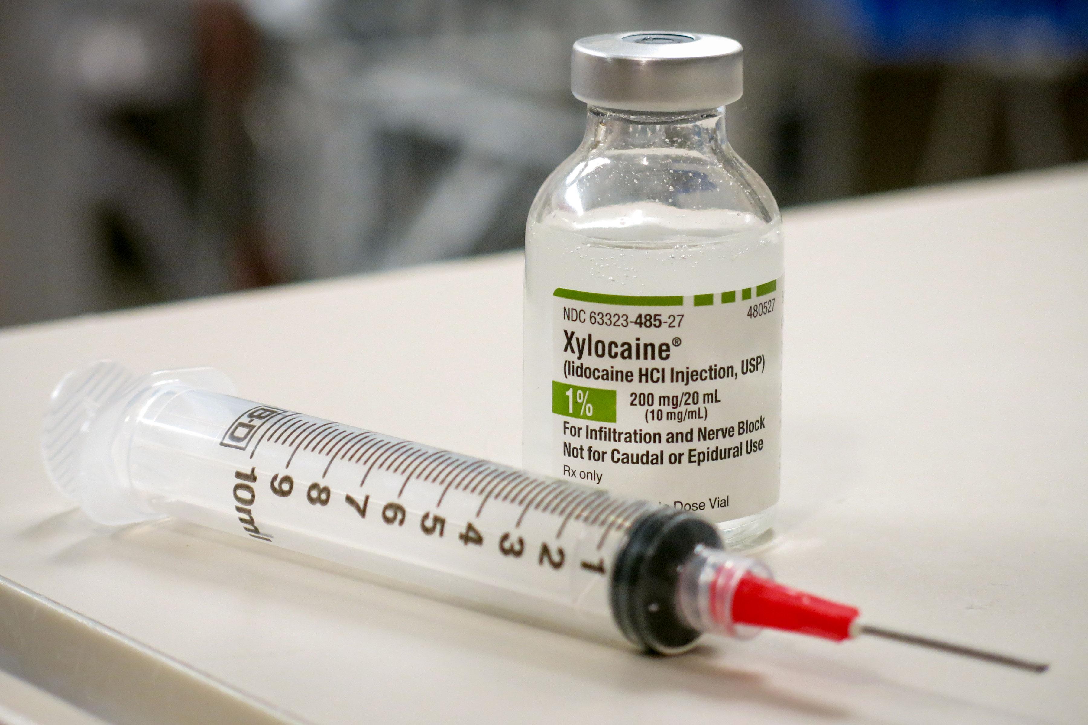 Photo: Opioid Hospital Pilot 1 | Lidocaine Syringe - JDaley