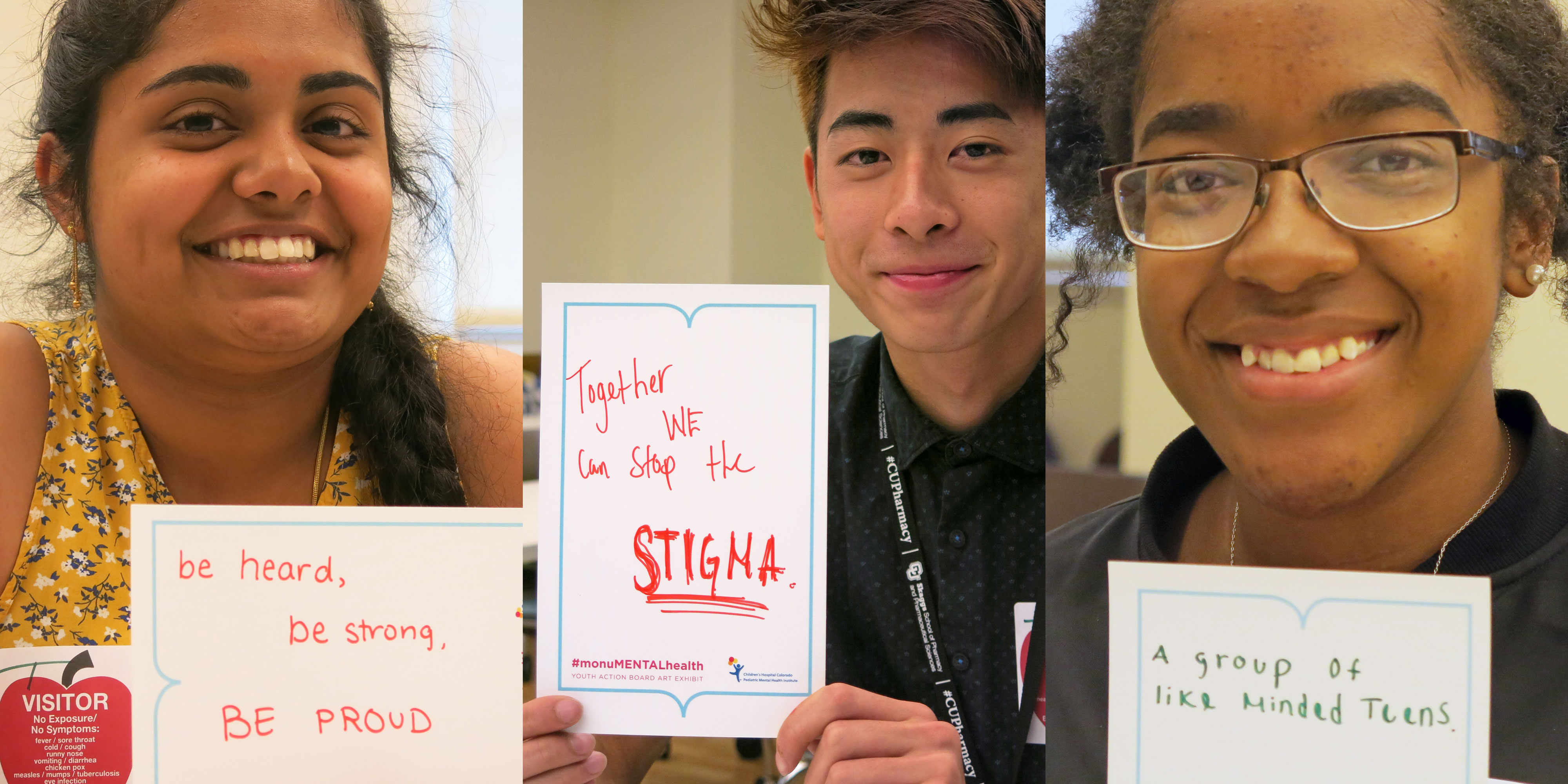 Photo: Teen Mental Health 2 | Shritha, Kenneth and Shirley - JDaley