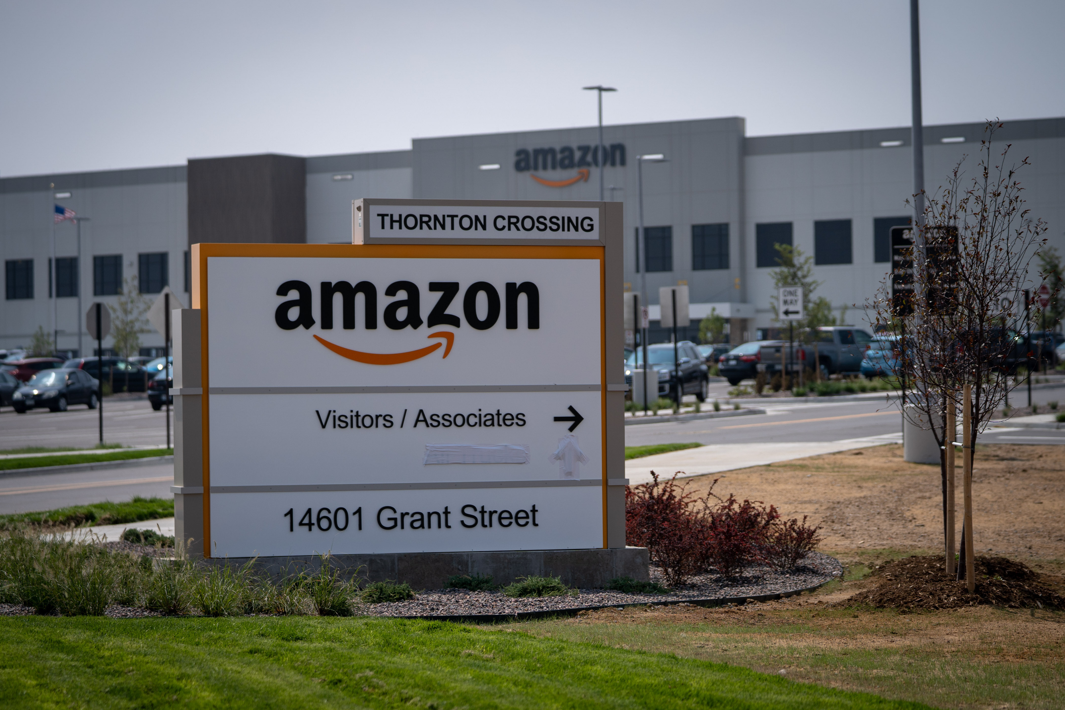 Photo: Amazon Denver 3 | Thornton Warehouse Sign - JHill
