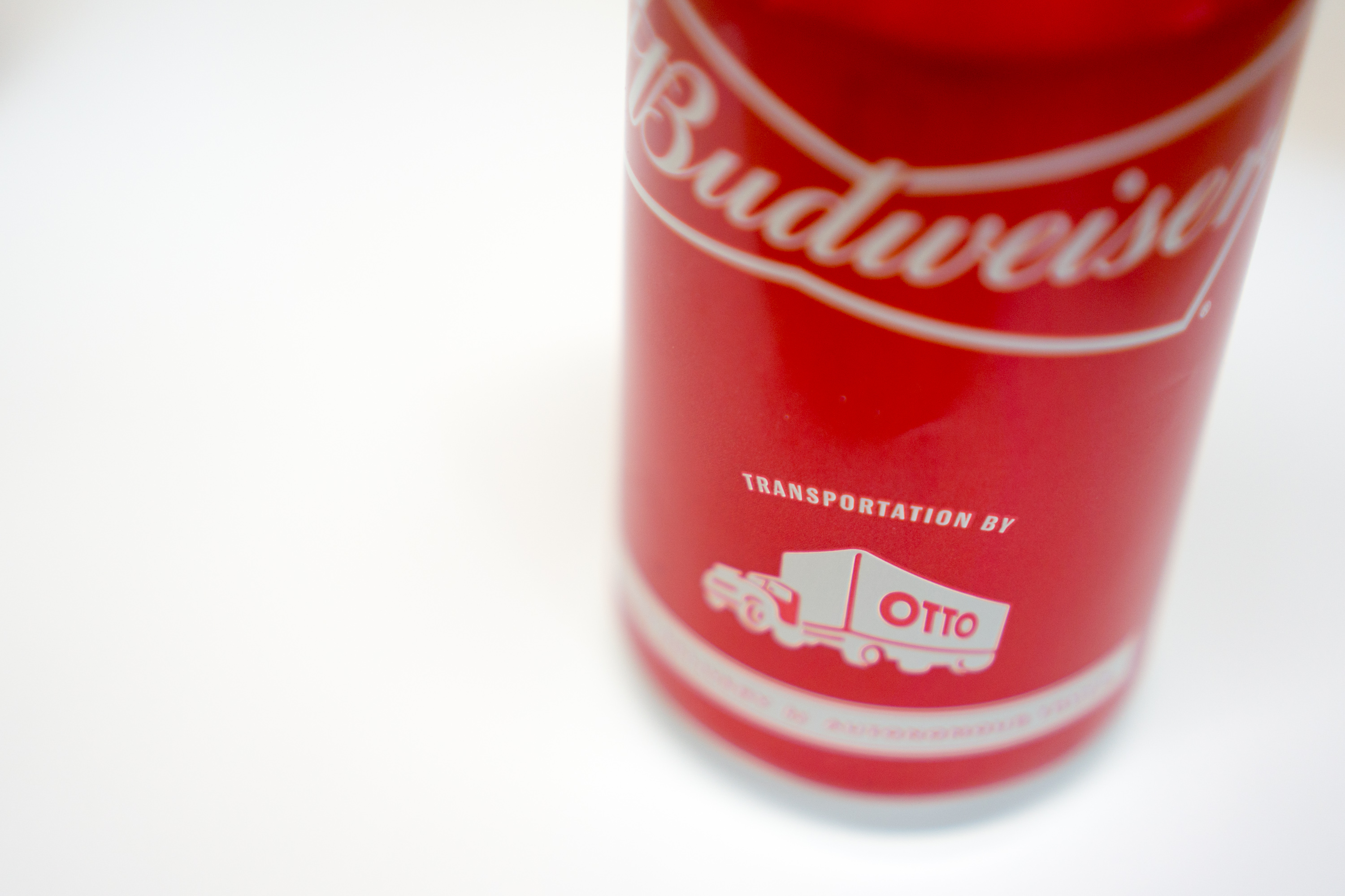 Photo: Budweiser Delivered By Otto, Robot Beer Truck