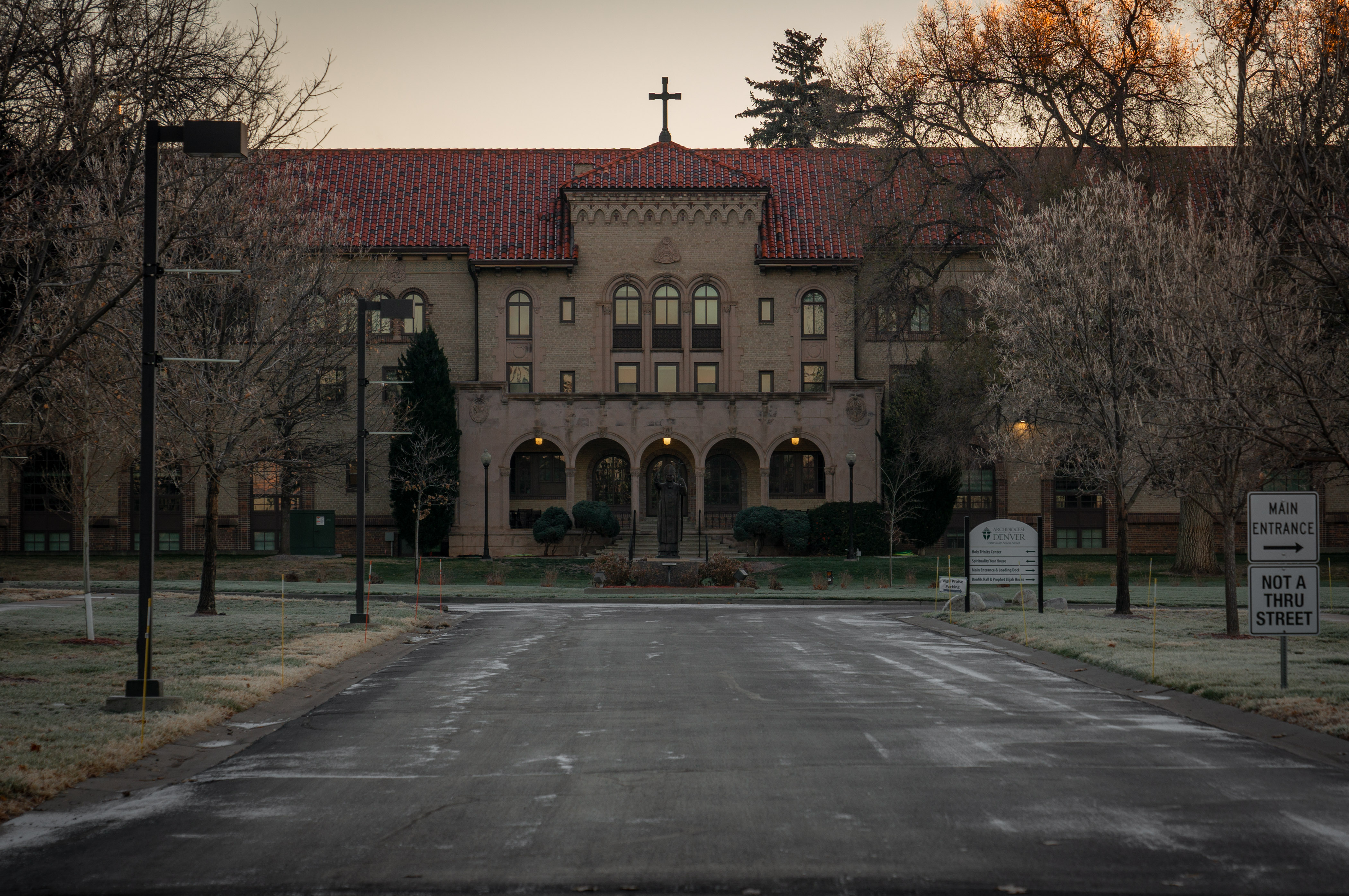 The St. John Vianney Seminary and the archdiocese are headquartered at the St. John Paul II Center for the New Evangelization in the Cory-Merrill neighborhood of Denver, Colo.