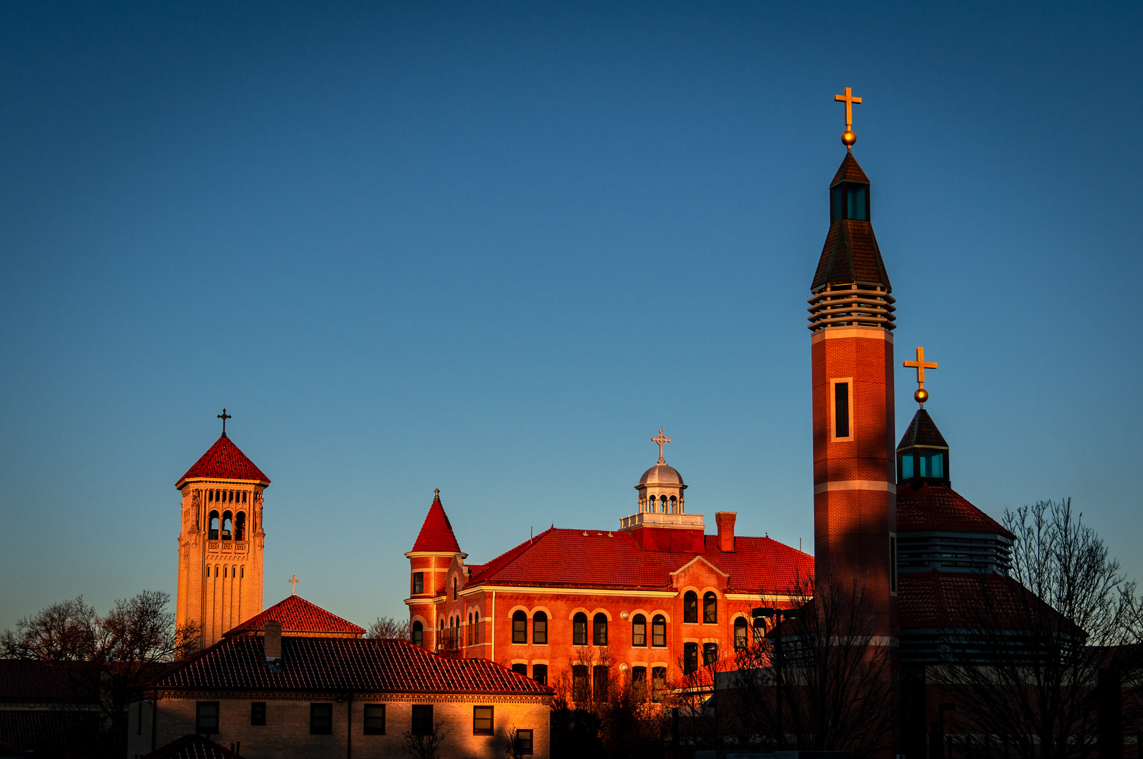 Photo: Archdiocese Of Denver 2 | Church Complex At Sunrise - JHill (220196)