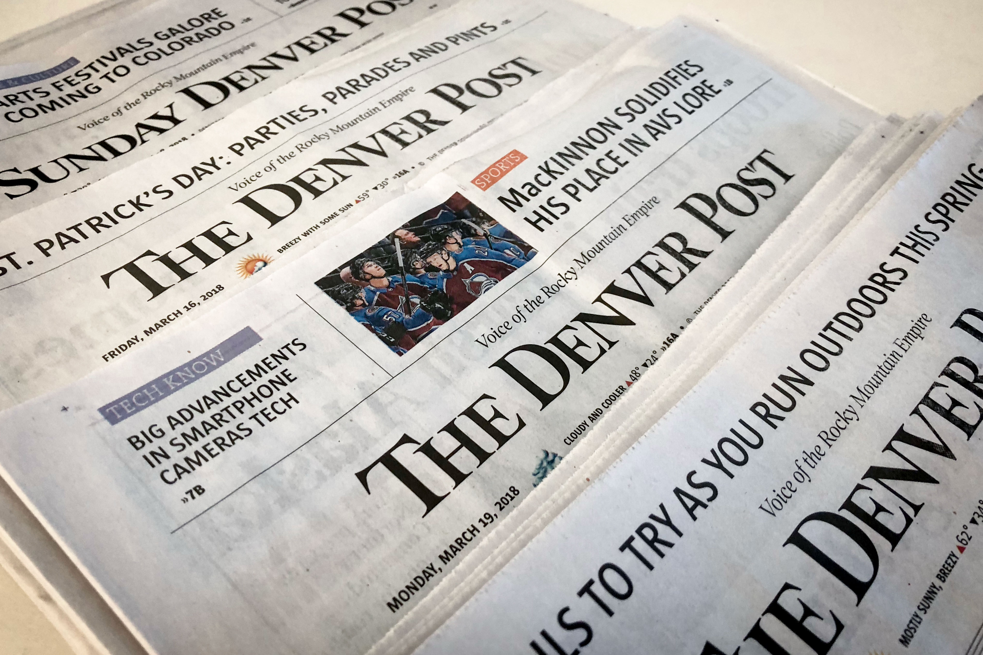 Photo: Denver Post Masthead Collage - JHill